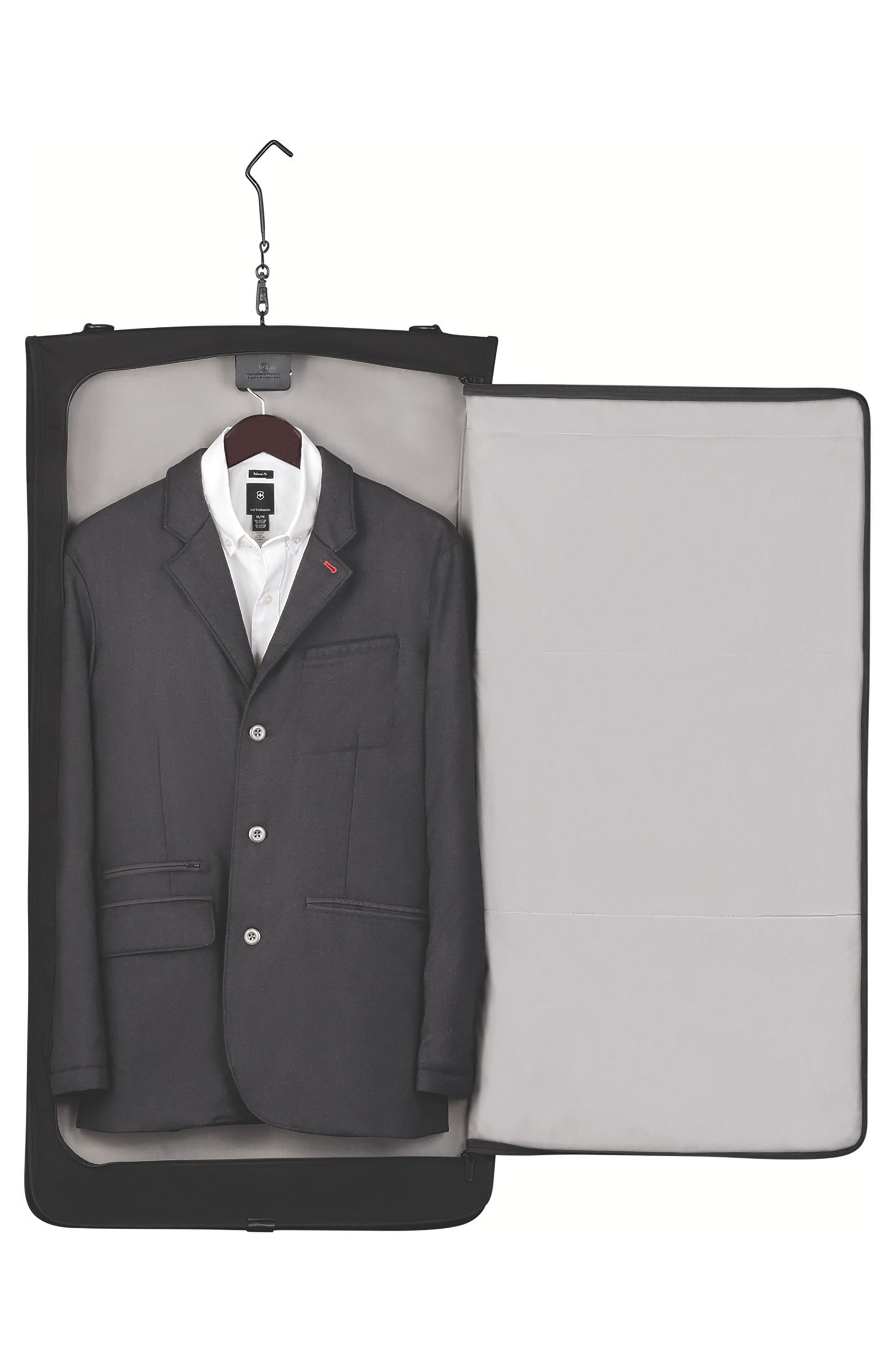 VICTORINOX SWISS ARMY<SUP>®</SUP>, Lexicon 2.0 Trifold Garment Bag, Alternate thumbnail 2, color, BLACK