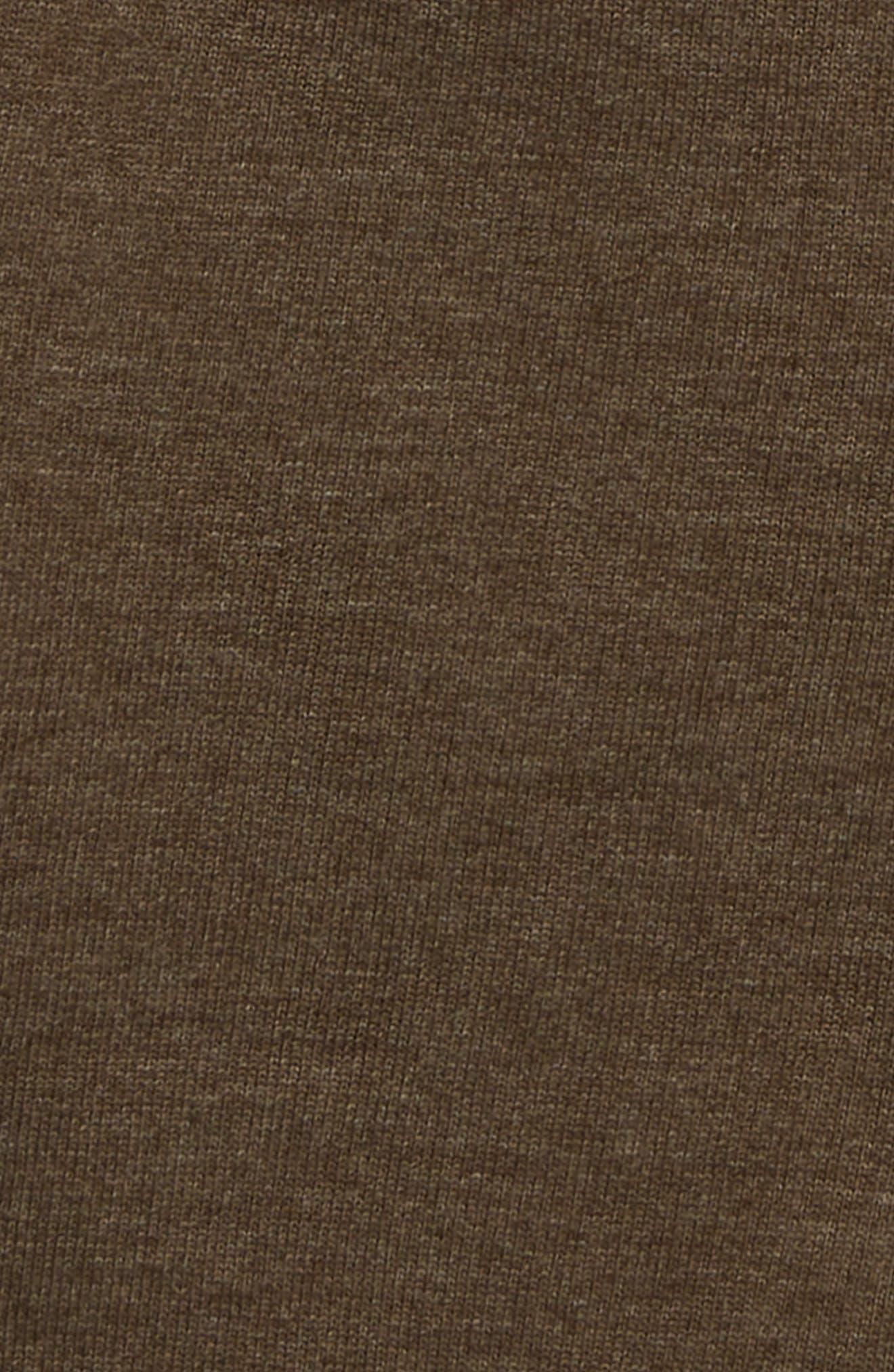 HATLEY, Bermuda Knit Shorts, Alternate thumbnail 2, color, BROWN
