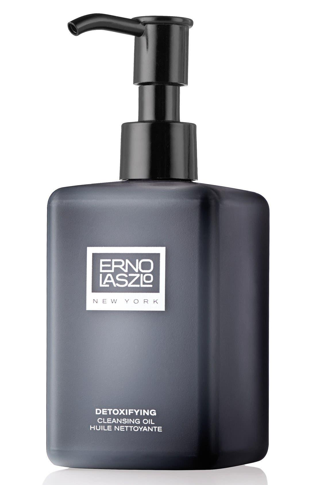 ERNO LASZLO, Detoxifying Cleansing Oil, Main thumbnail 1, color, NO COLOR