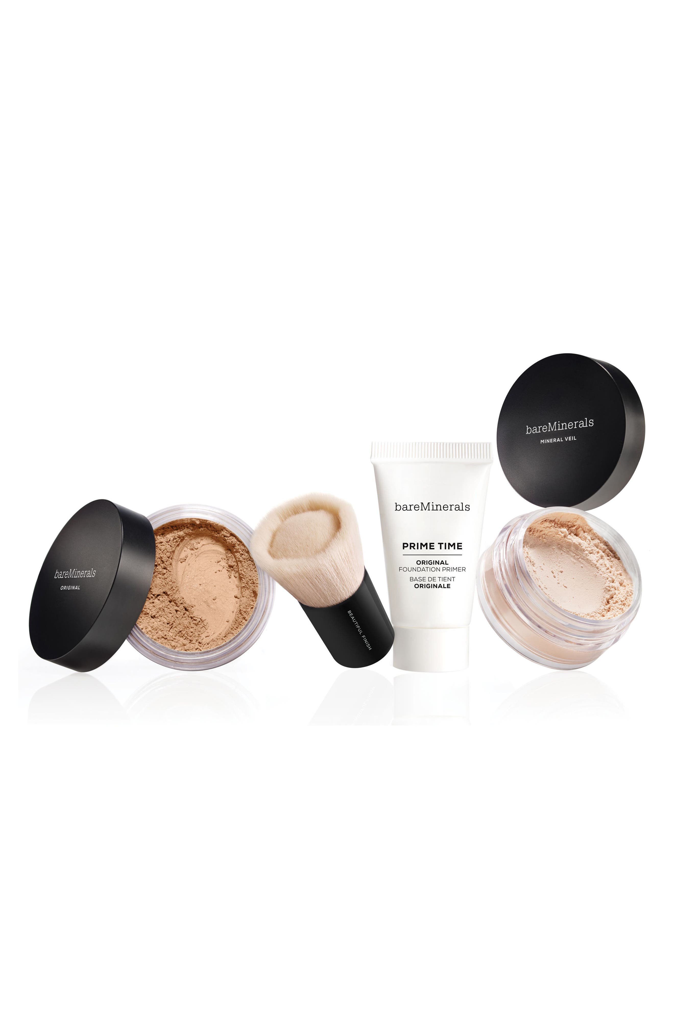 BAREMINERALS<SUP>®</SUP>, Nothing Beats the Original<sup>™</sup> 4-Piece Get Started Kit, Main thumbnail 1, color, MEDIUM BEIGE 12