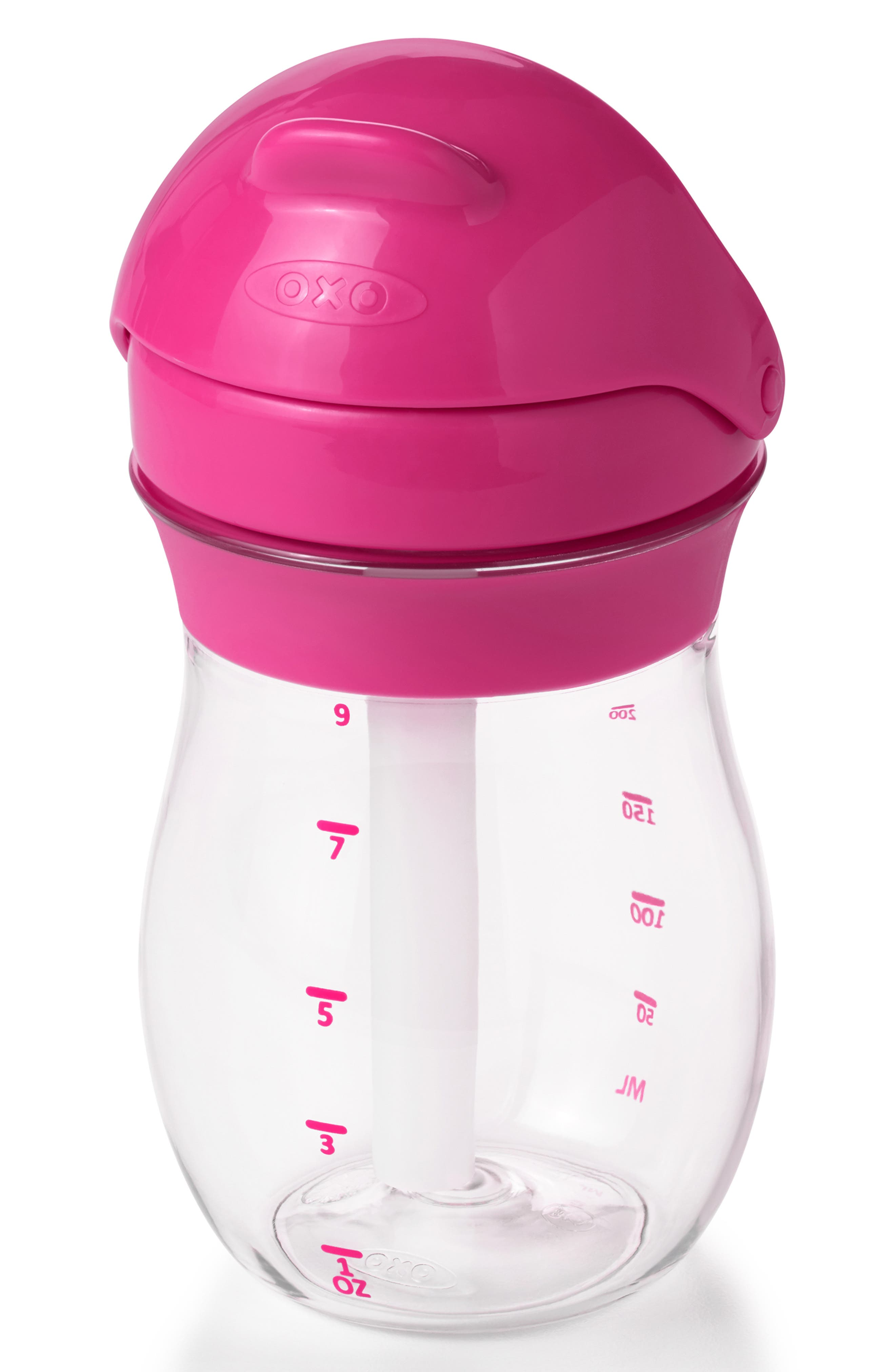 Infant Oxo Tot 2Pack Transitions Straw Cup Size One Size  Pink