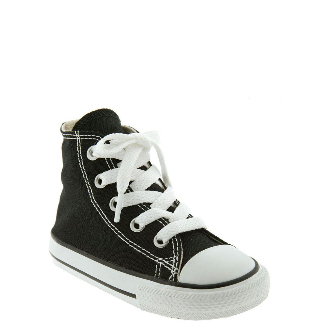 CONVERSE, All Star<sup>®</sup> High Top Sneaker, Main thumbnail 1, color, BLACK
