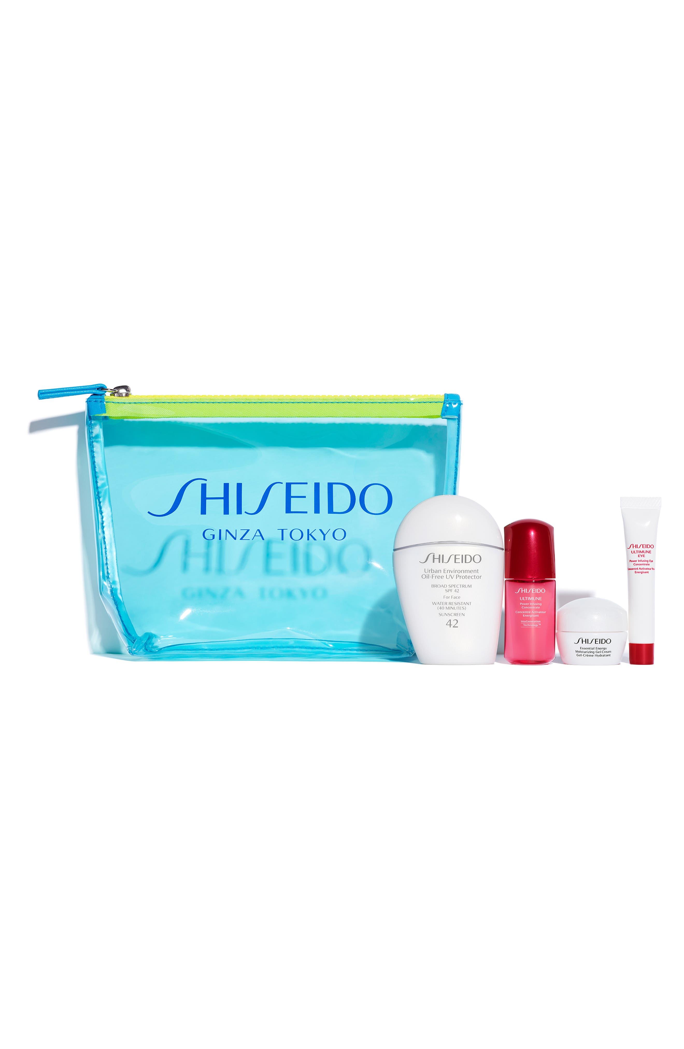 SHISEIDO, Everyday Sunscreen Set, Alternate thumbnail 2, color, 000