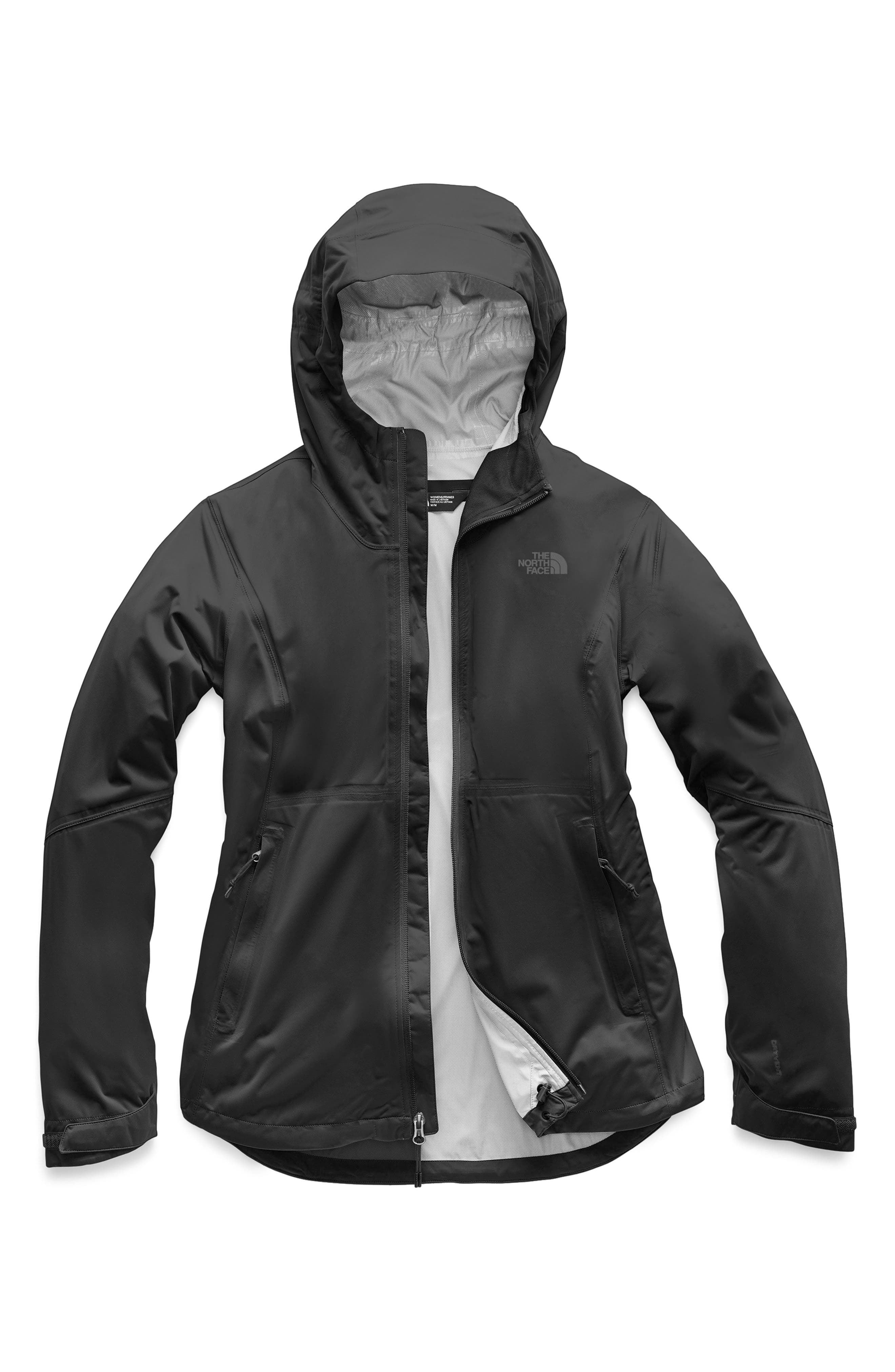 THE NORTH FACE, Allproof Stretch Jacket, Alternate thumbnail 6, color, TNF BLACK