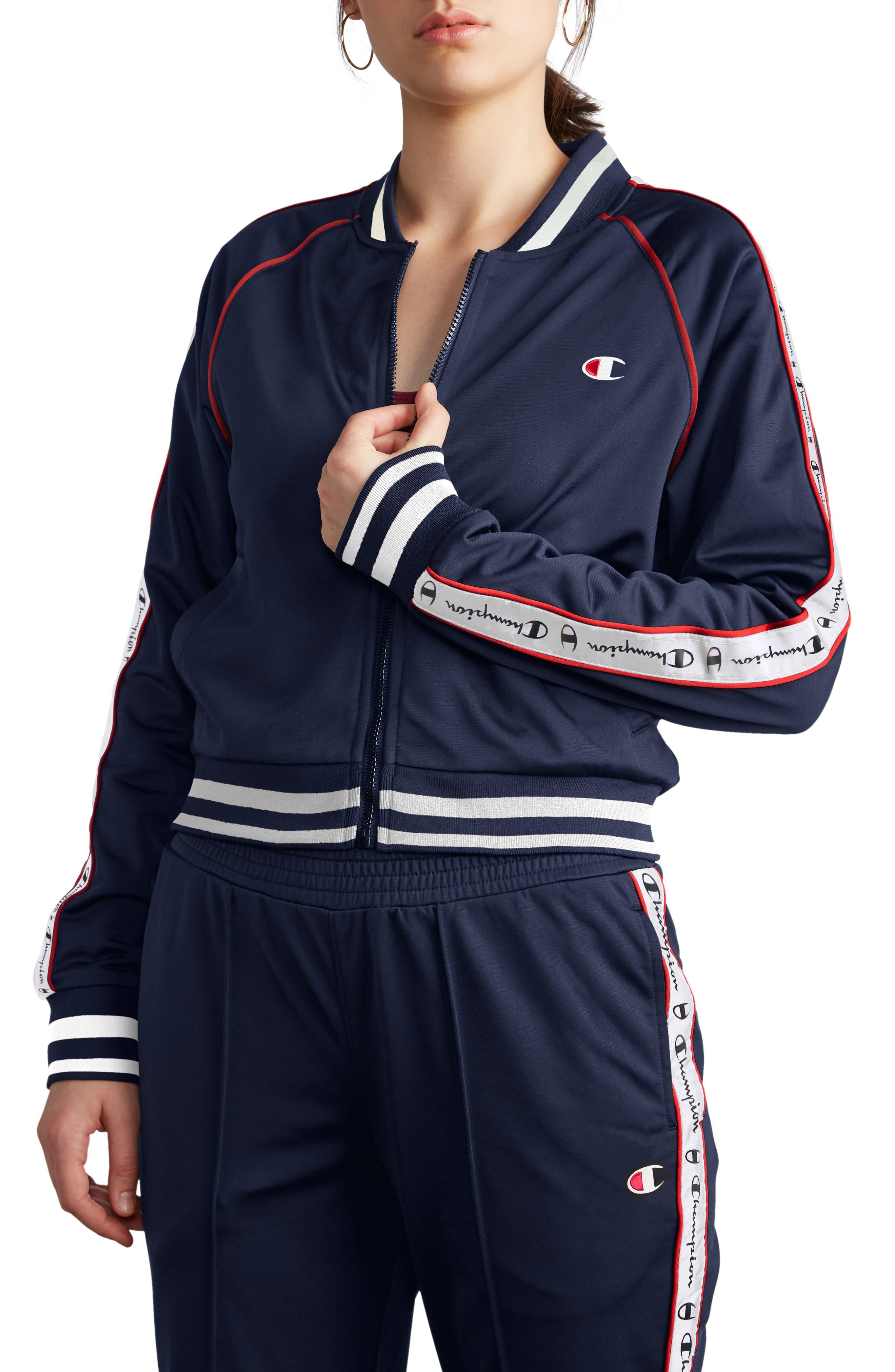 CHAMPION Track Jacket, Main, color, 400