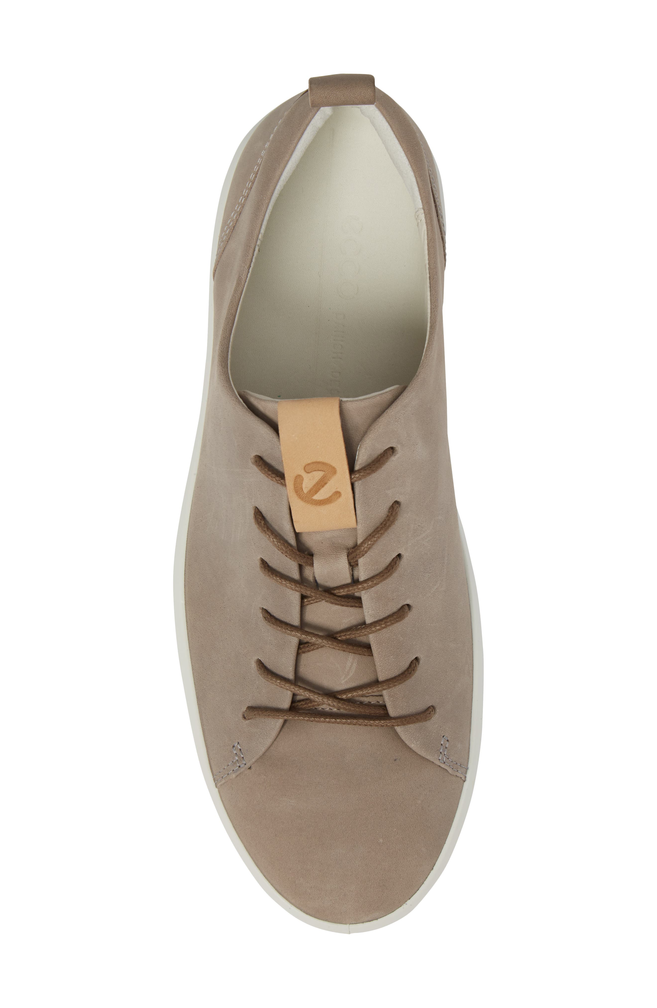 ECCO, Soft 8 Sneaker, Alternate thumbnail 5, color, MOONROCK