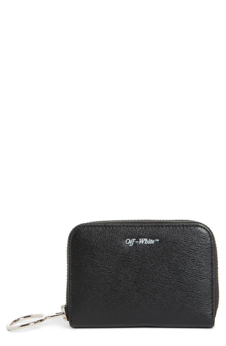 b4ec6c9d48e9 Off-White Medium Zip Wallet
