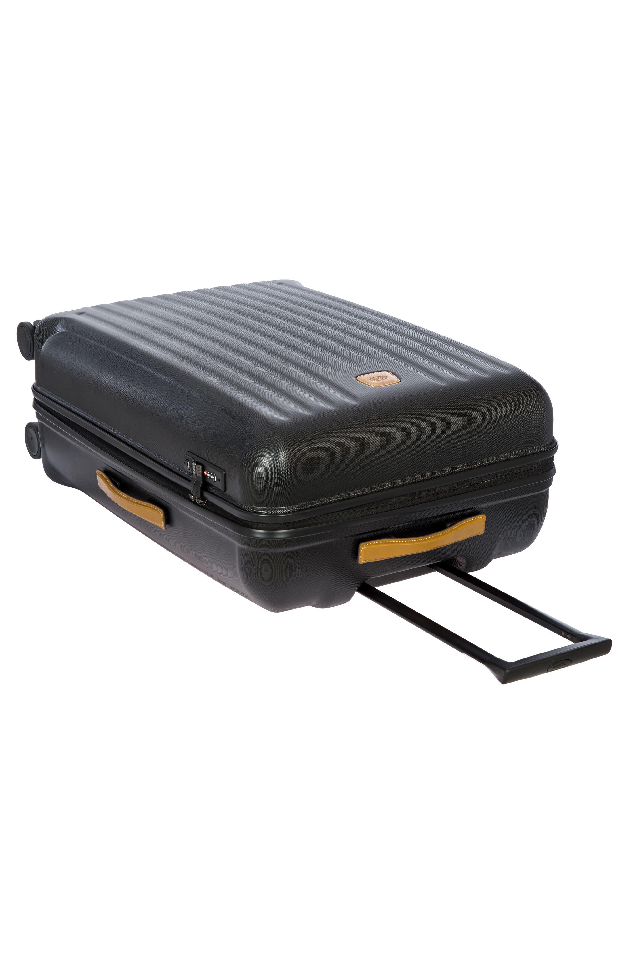 BRIC'S, Capri 32-Inch Spinner Suitcase, Alternate thumbnail 9, color, MATTE BLACK
