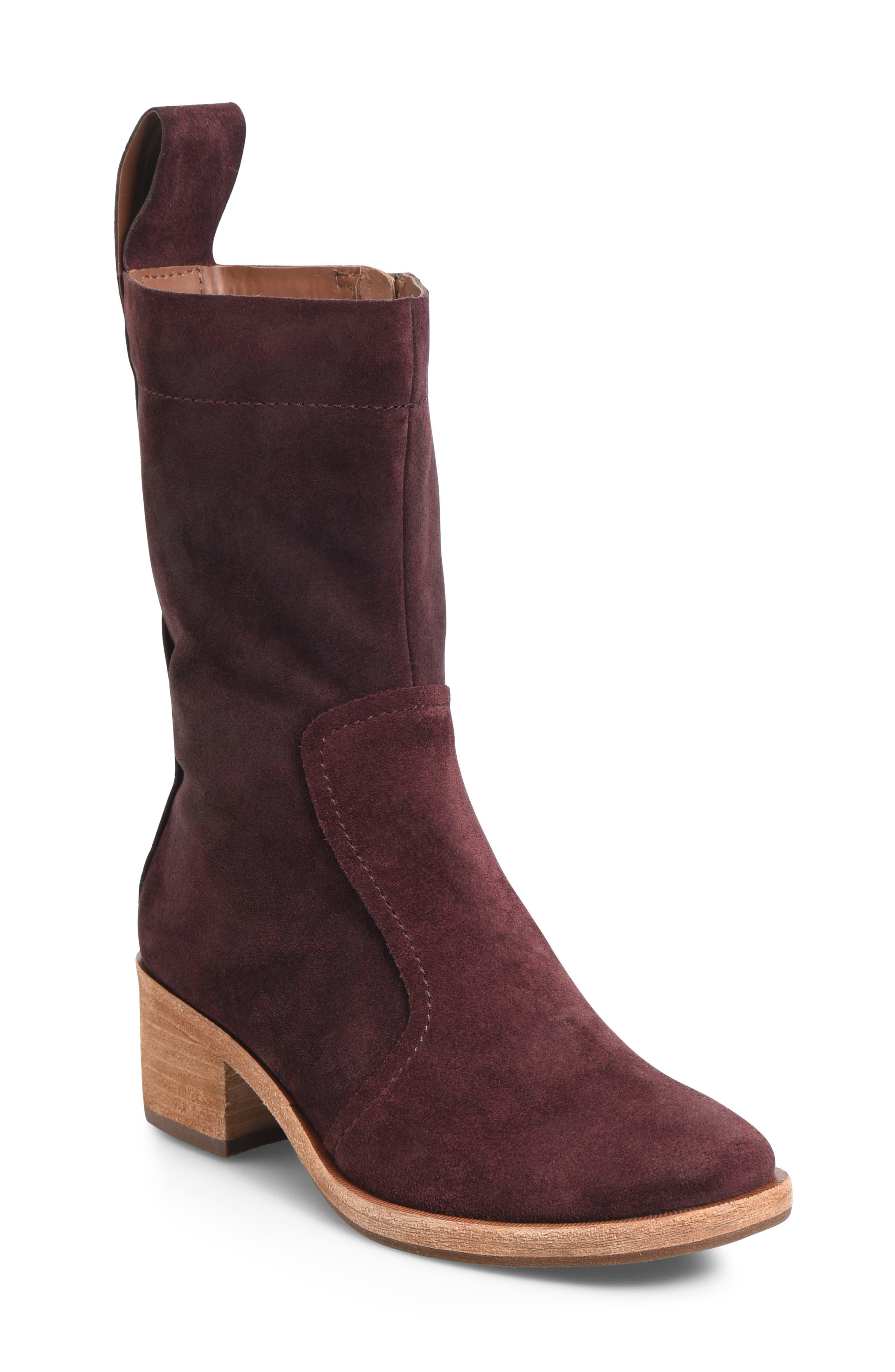 Kork-Ease Jewel Boot- Red