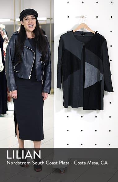 Colorblock Knit Jacket, sales video thumbnail