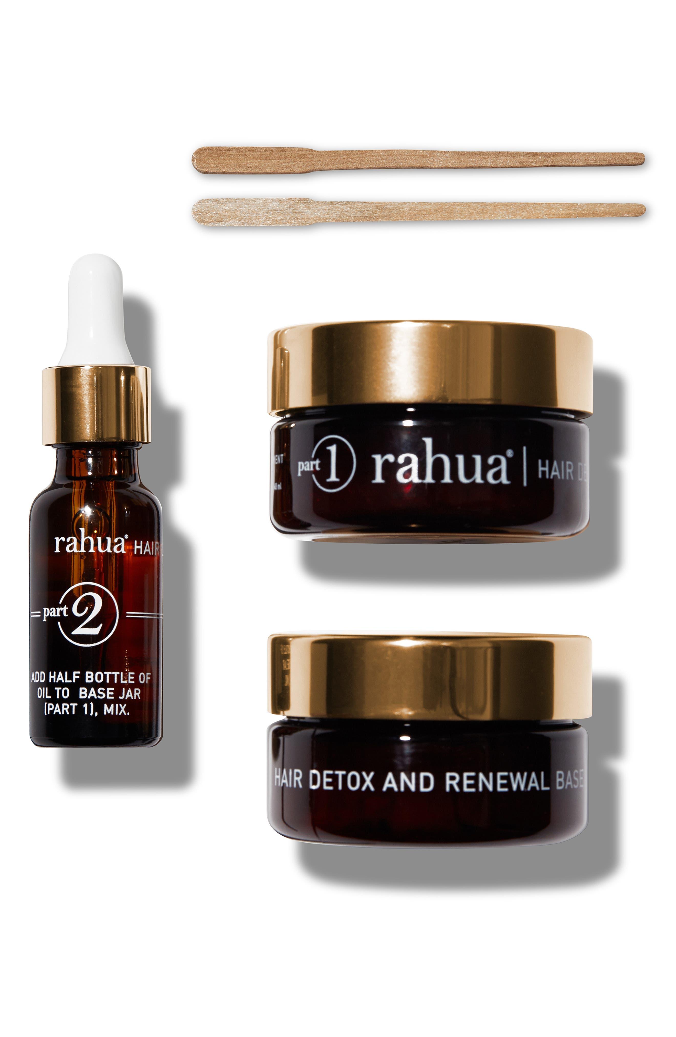 RAHUA<SUP>®</SUP>, SPACE.NK.apothecary rahua<sup>®</sup> Detox & Renewal Treatment Set, Main thumbnail 1, color, NO COLOR