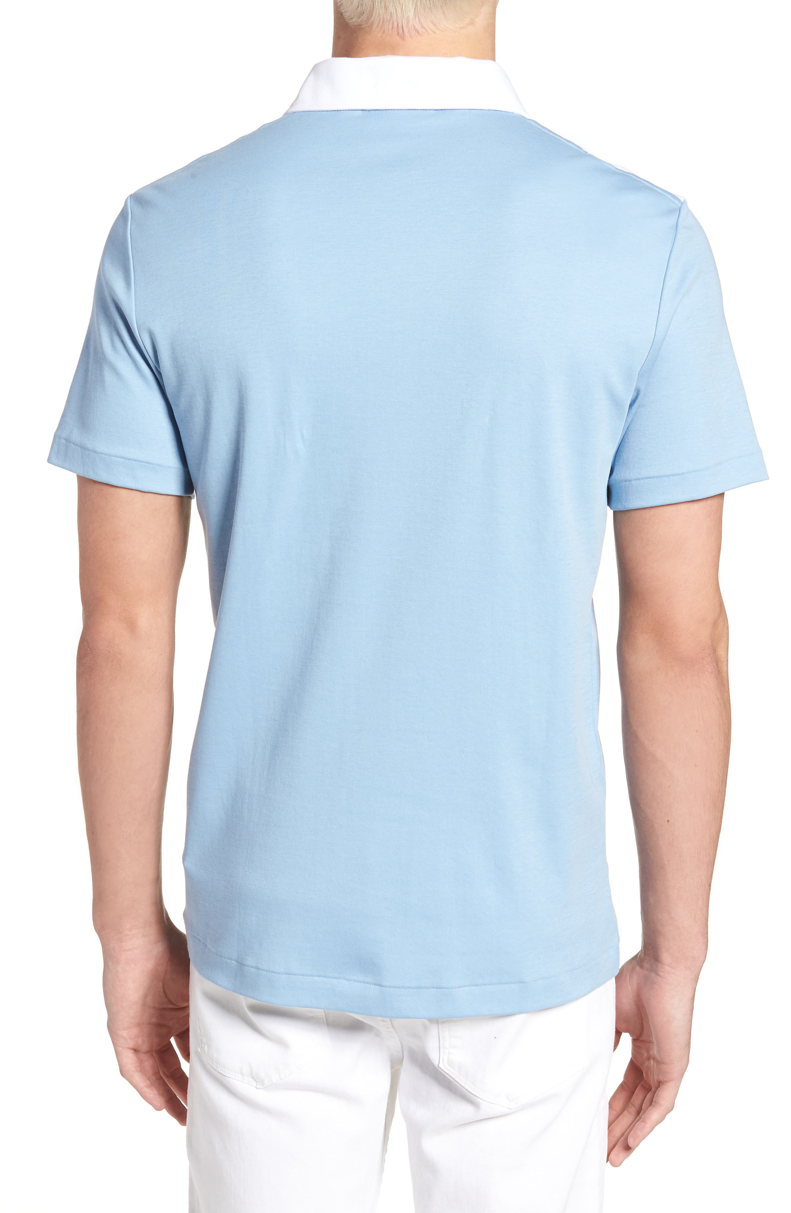 LACOSTE, 85th Anniversary Polo, Alternate thumbnail 2, color, 400
