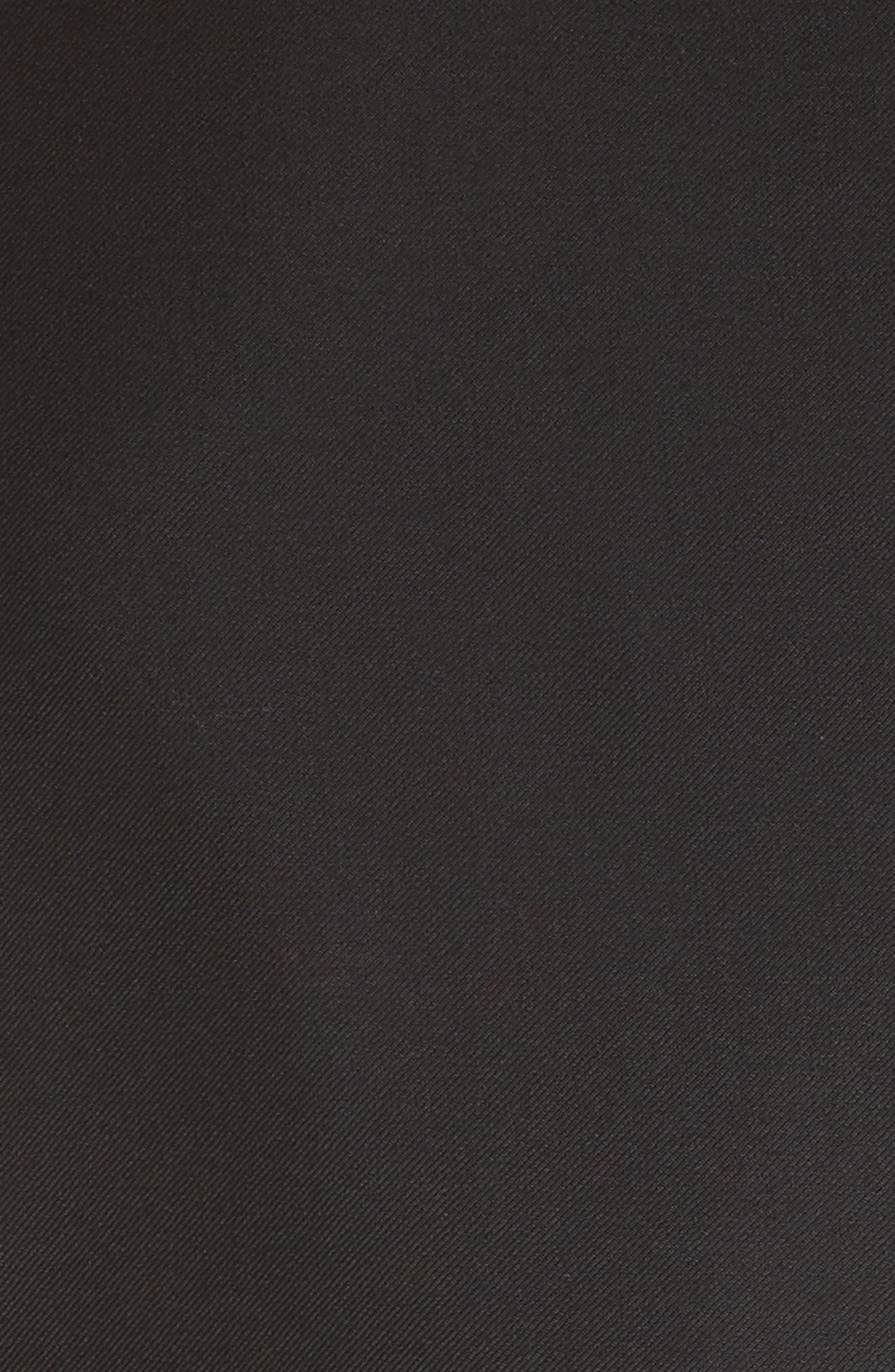 EMPORIO ARMANI, Trim Fit Solid Wool Suit, Alternate thumbnail 7, color, BLACK
