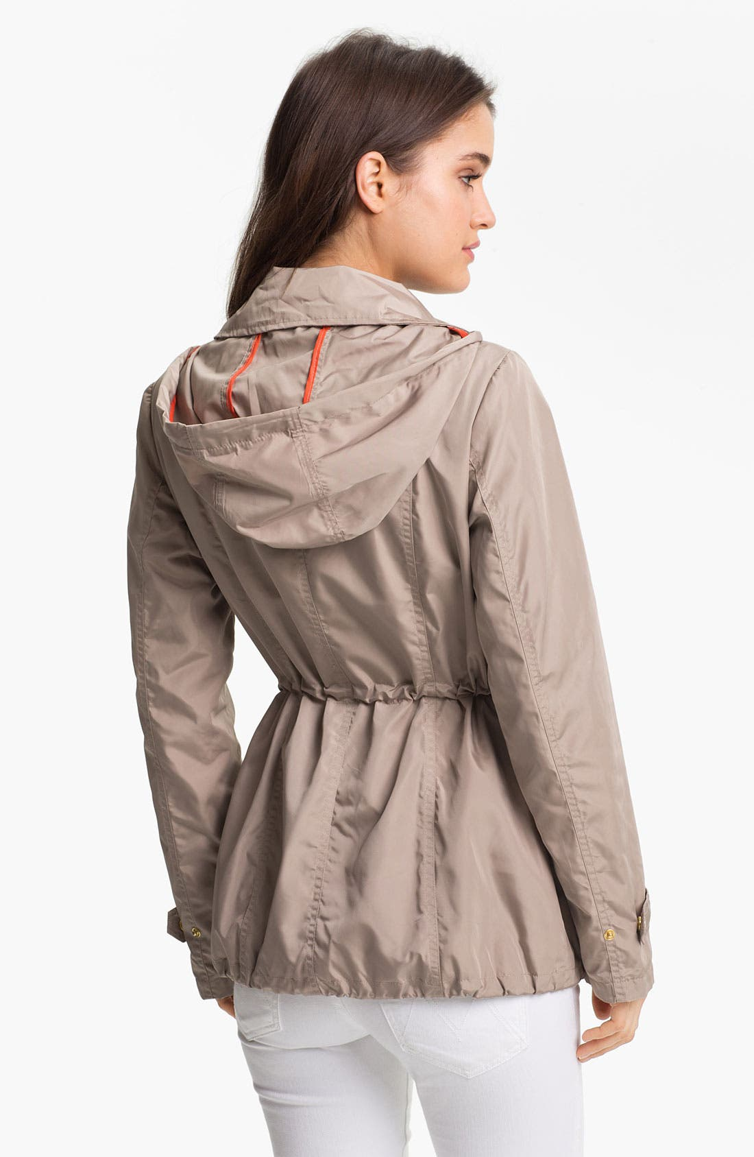 MICHAEL MICHAEL KORS, Fly Front Anorak, Alternate thumbnail 2, color, 250