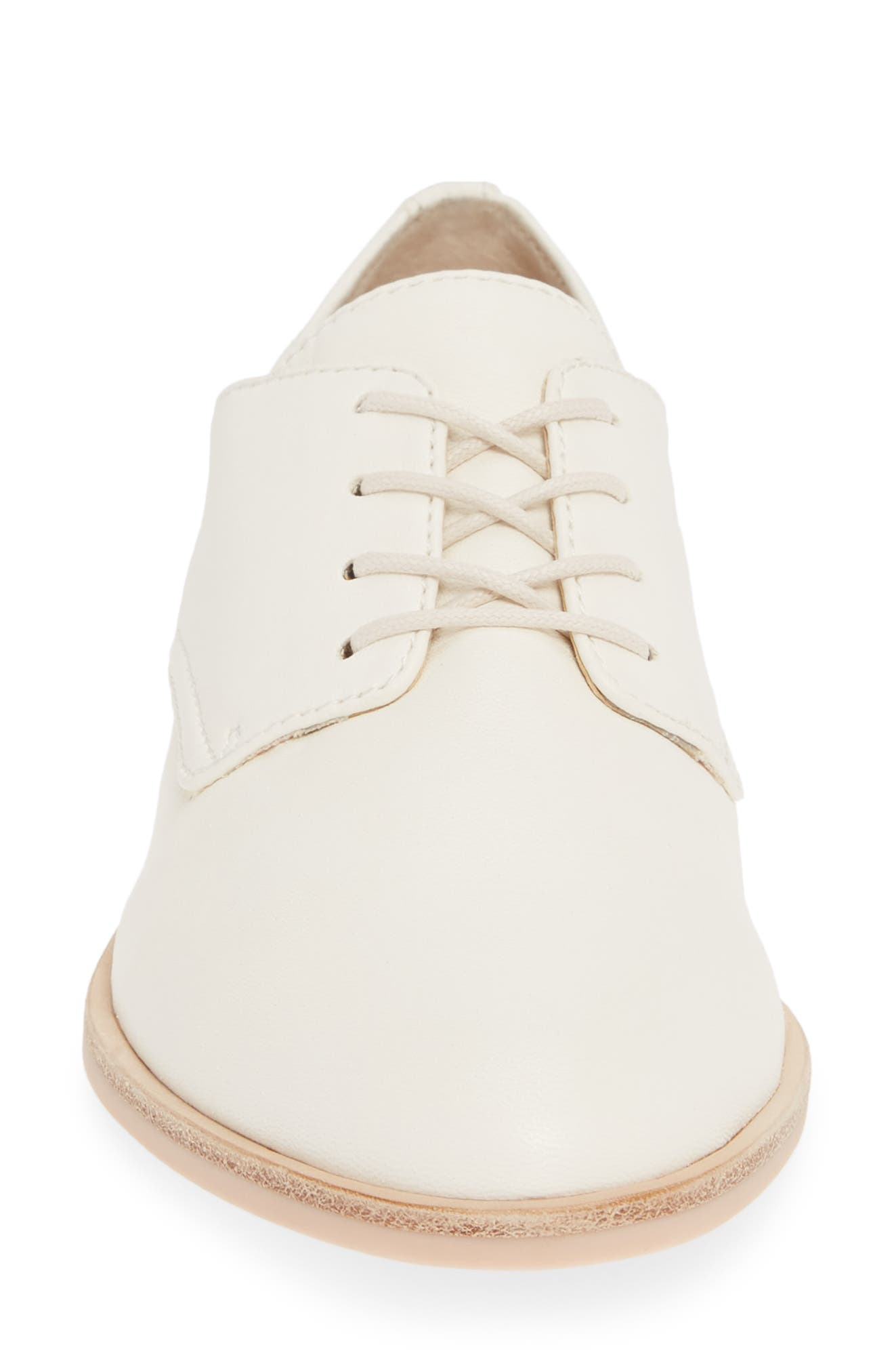 DOLCE VITA, Kyle Derby, Alternate thumbnail 4, color, OFF WHITE LEATHER