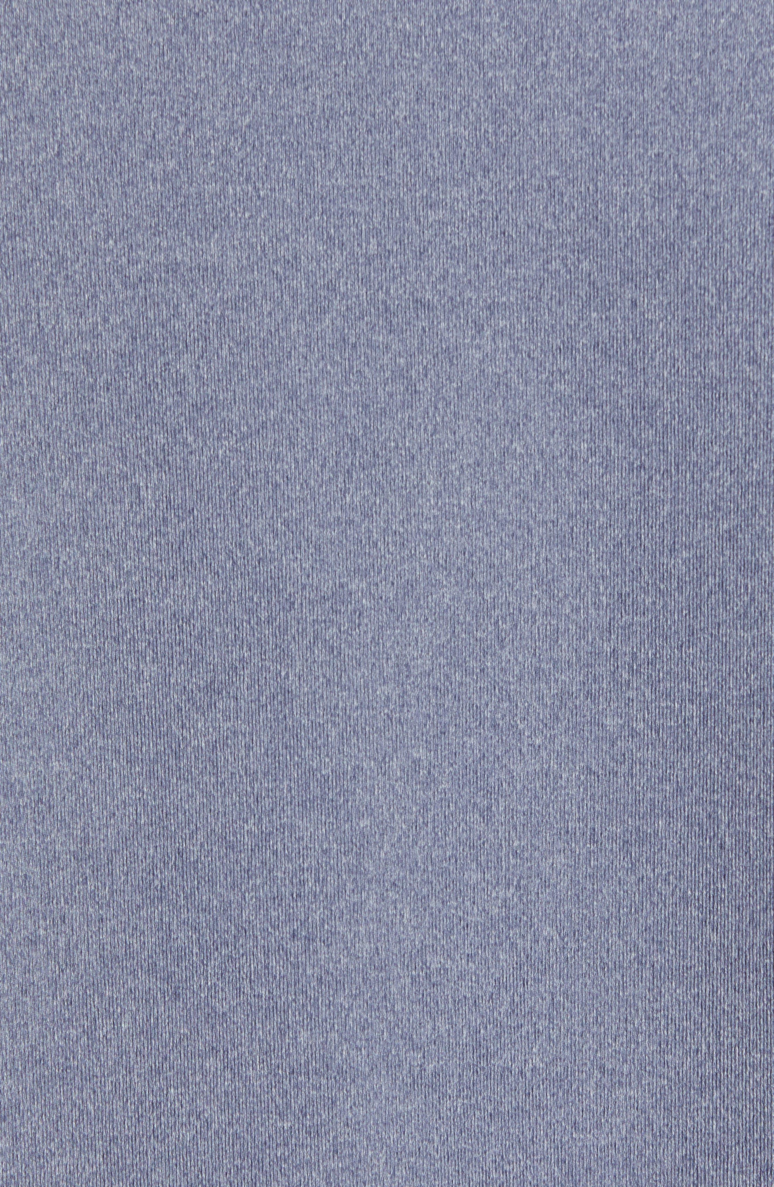 BOBBY JONES, Rule 18 Quarter Zip Tech Pullover, Alternate thumbnail 6, color, NAVY