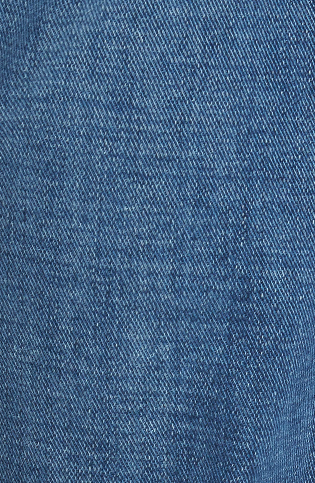 7 FOR ALL MANKIND<SUP>®</SUP>, Straight Slim Straight Leg Jeans, Alternate thumbnail 6, color, LYNNWOOD-LYNN