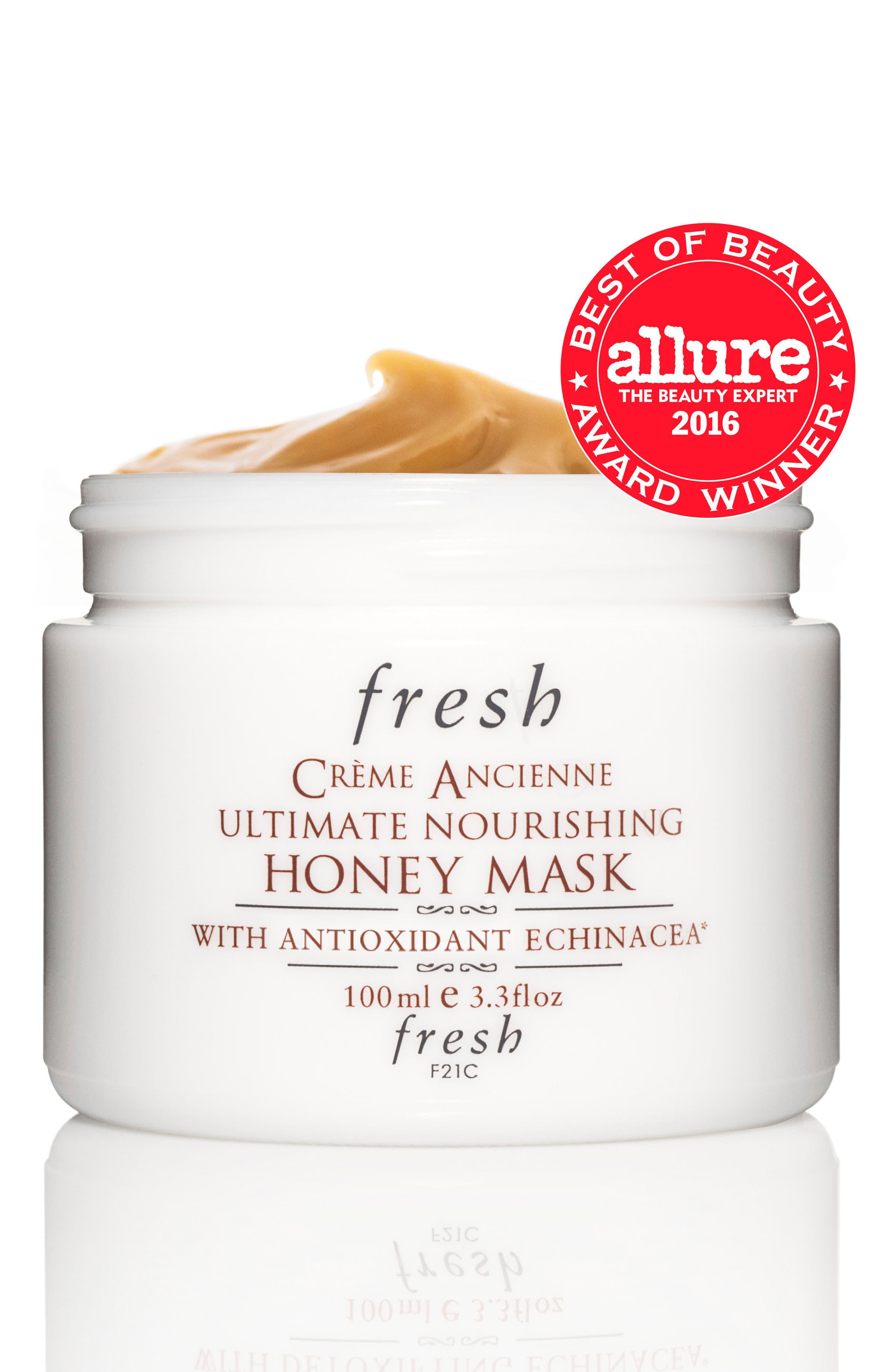 FRESH<SUP>®</SUP>, Crème Ancienne<sup>®</sup> Ultimate Nourishing Honey Mask, Main thumbnail 1, color, NO COLOR