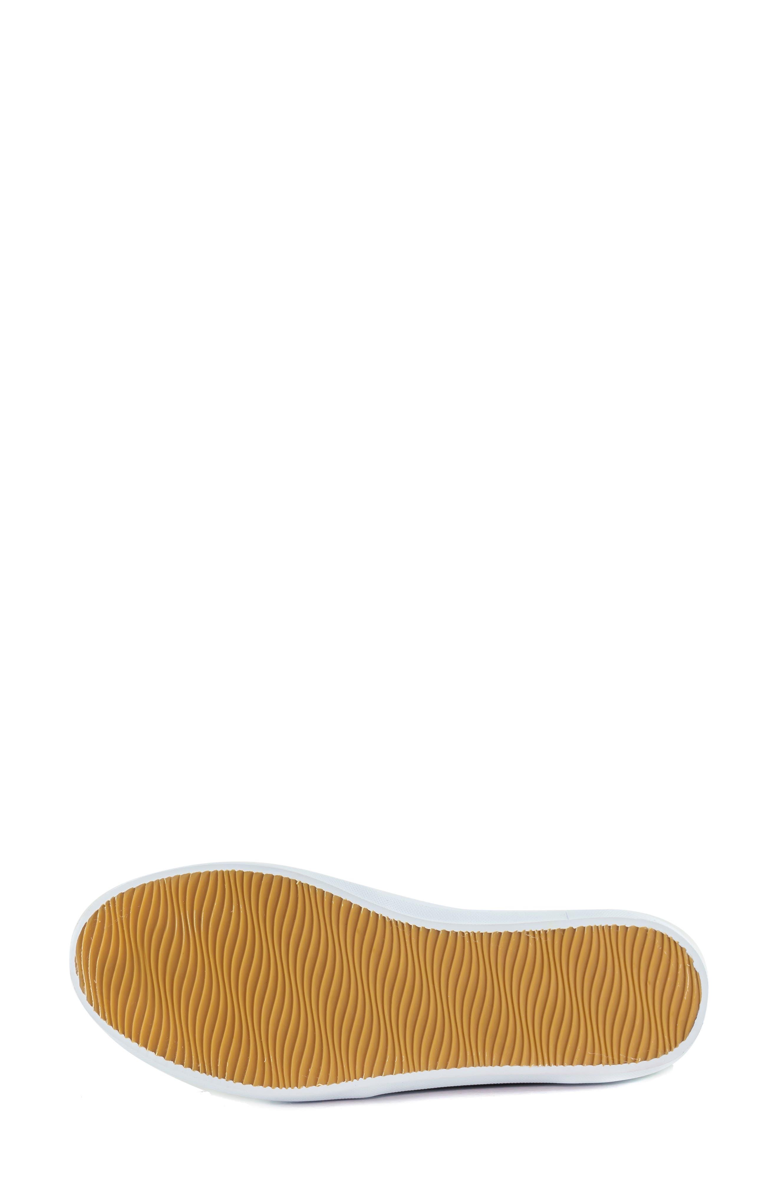 MARC JOSEPH NEW YORK, Soho Sneaker, Alternate thumbnail 6, color, CORAL LEATHER