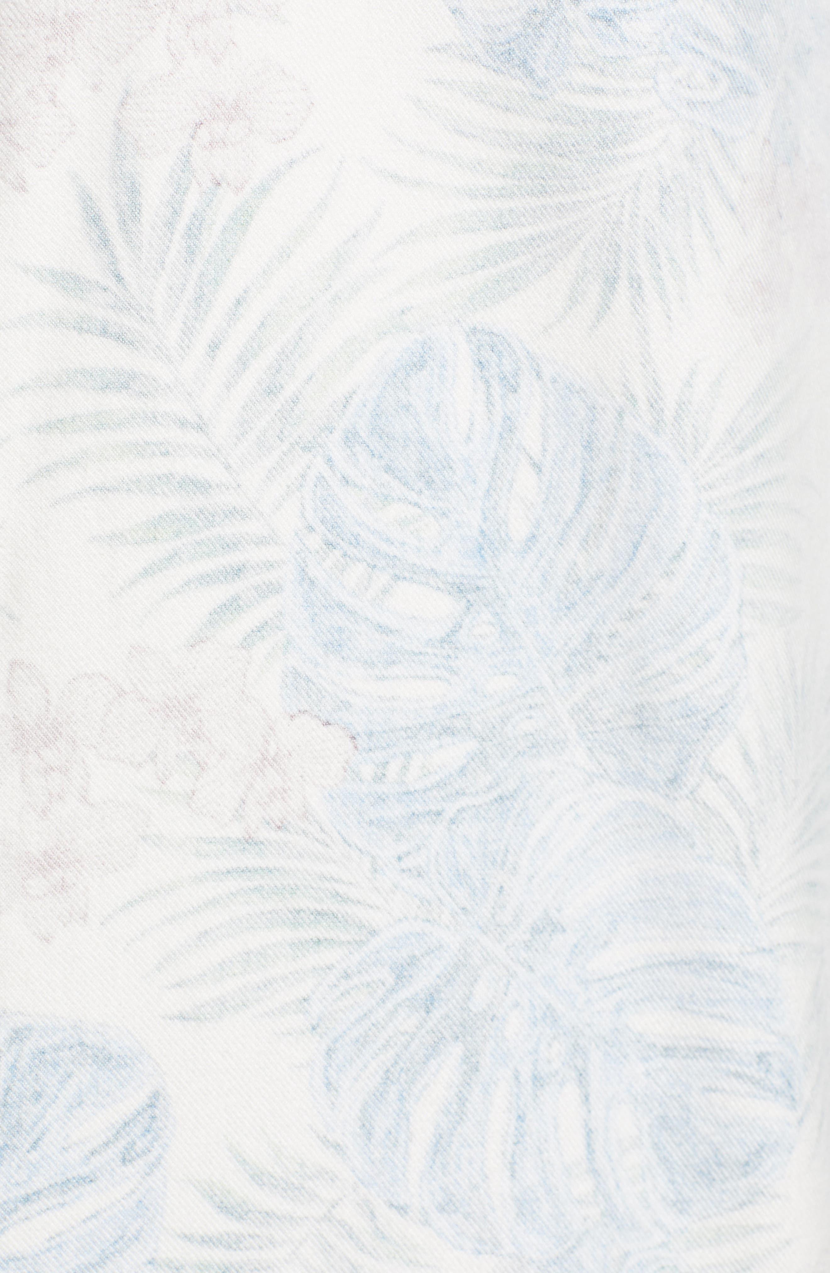 TOMMY BAHAMA, Beach Palms Long Sleeve Flannel Sport Shirt, Alternate thumbnail 5, color, 200