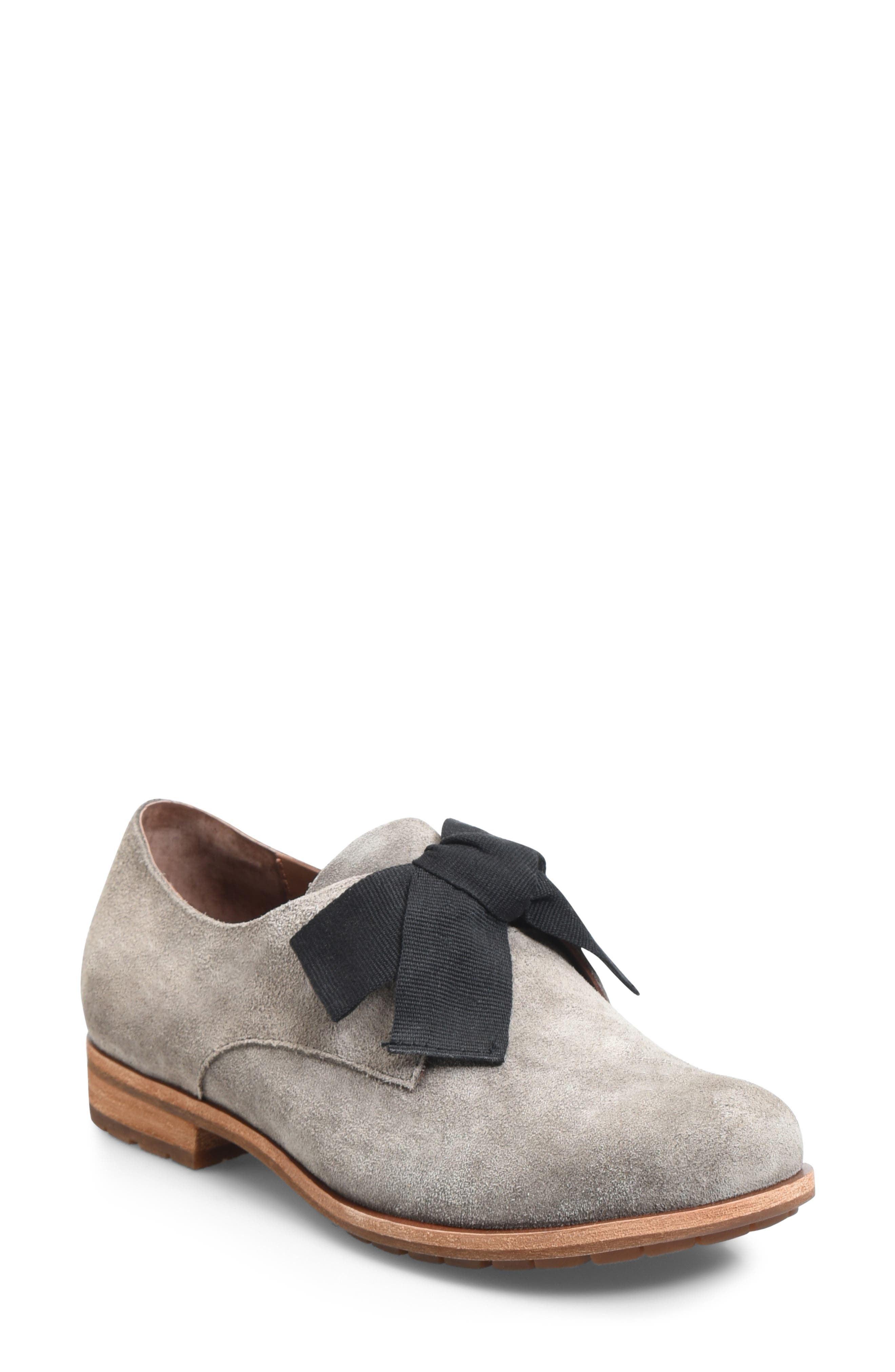 Kork-Ease Beryl Bow Flat- Grey