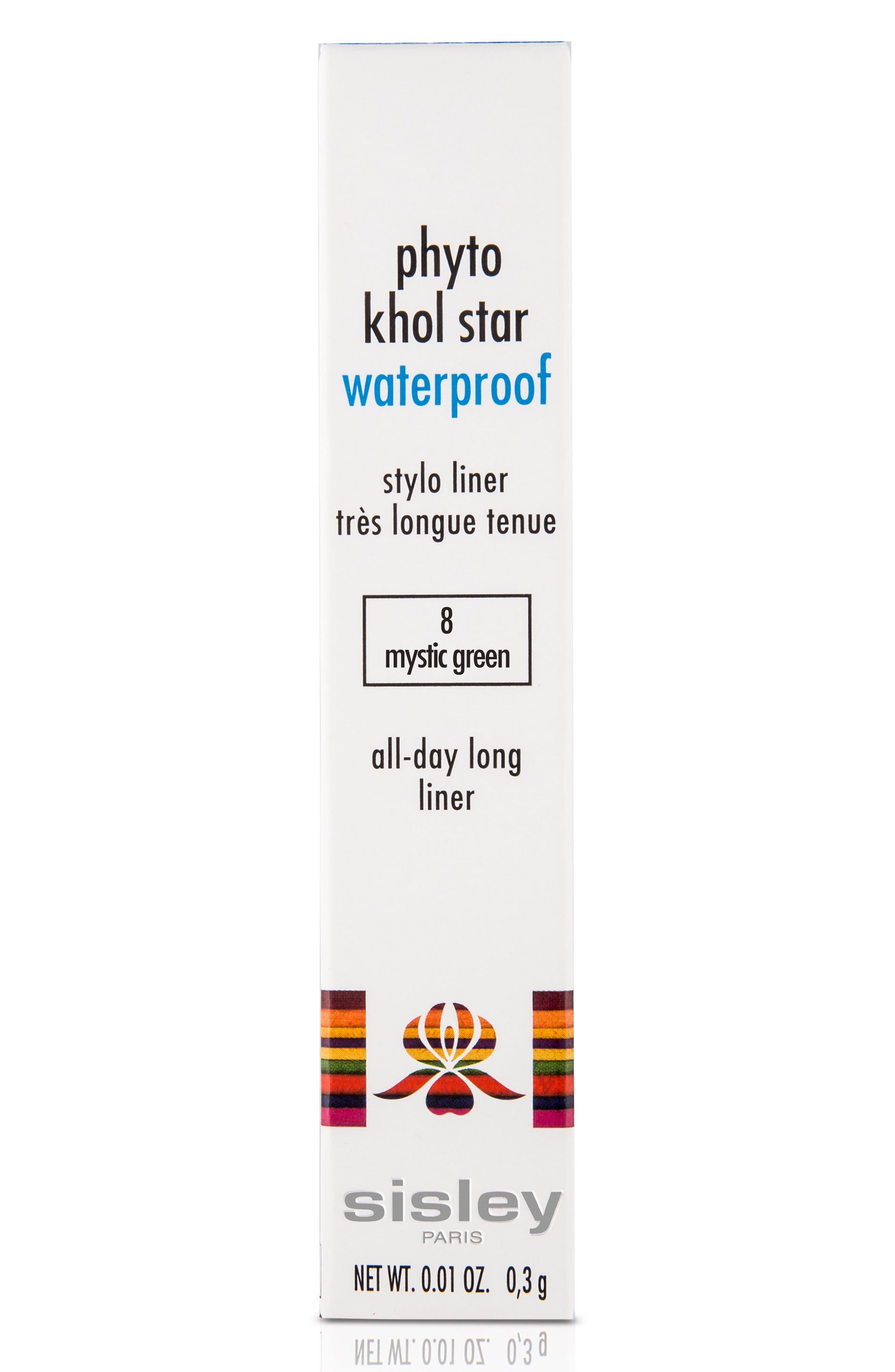 SISLEY PARIS, Phyto Kohl Star Waterproof All Day Liner, Alternate thumbnail 2, color, MYSTIC GREEN