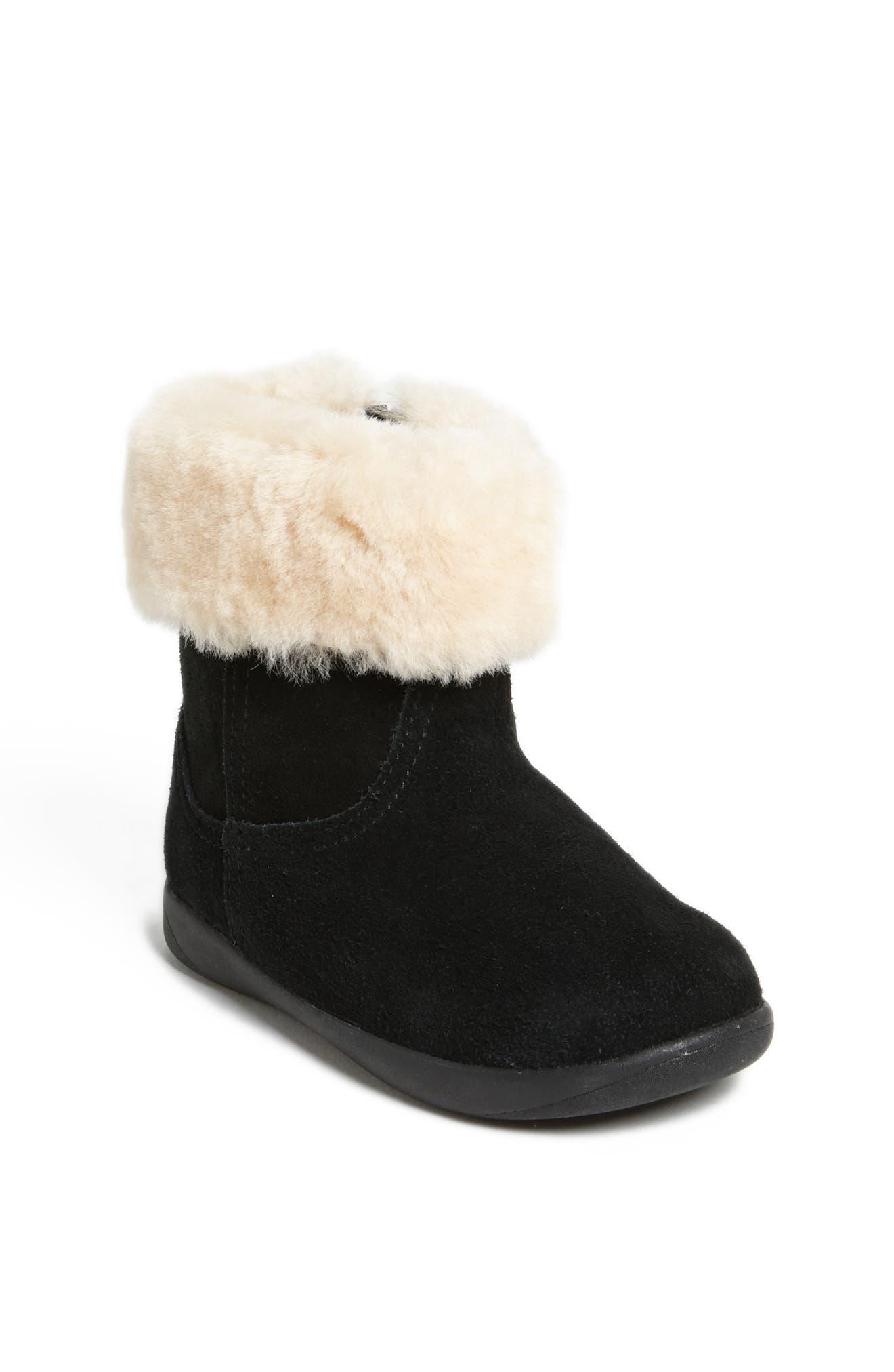 UGG<SUP>®</SUP> Jorie II Boot, Main, color, BLACK/ BLACK