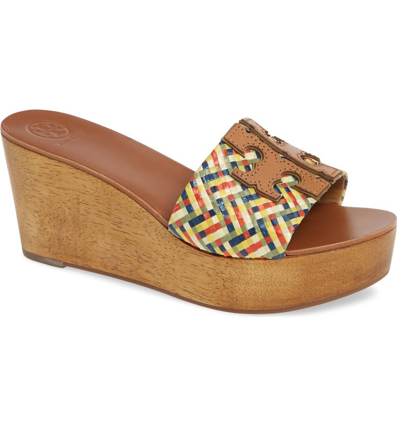 9be5bc8ef2ef Tory Burch Ines Wedge Slide Sandal (Women)