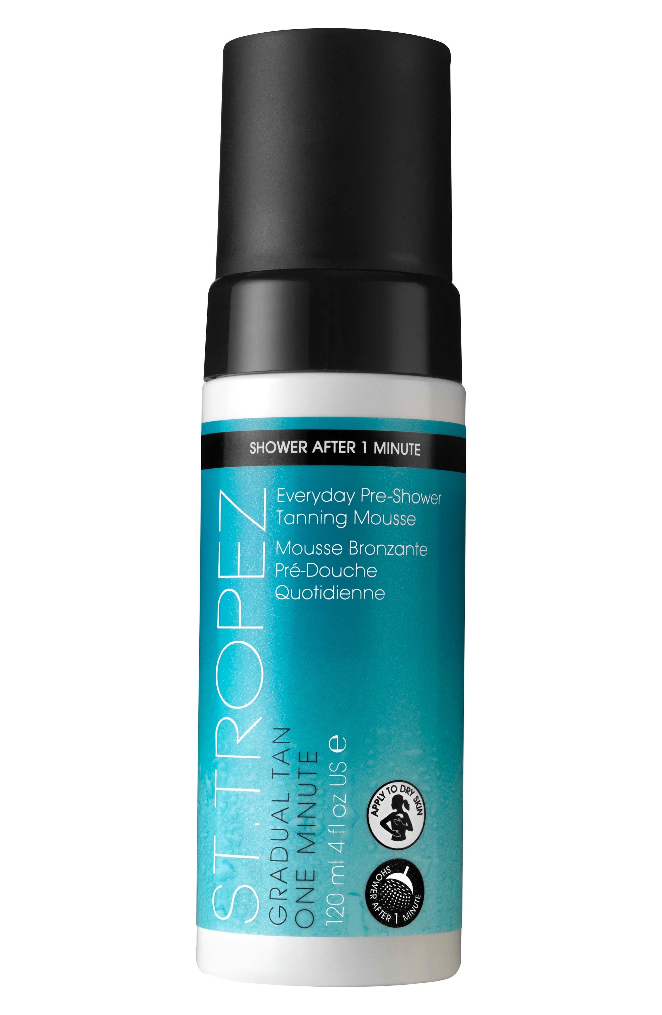 ST. TROPEZ, Everyday Pre-Shower Tanning Mousse, Main thumbnail 1, color, NO COLOR