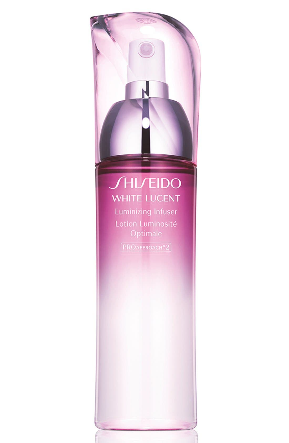 SHISEIDO White Lucent Luminizing Infuser, Main, color, NO COLOR