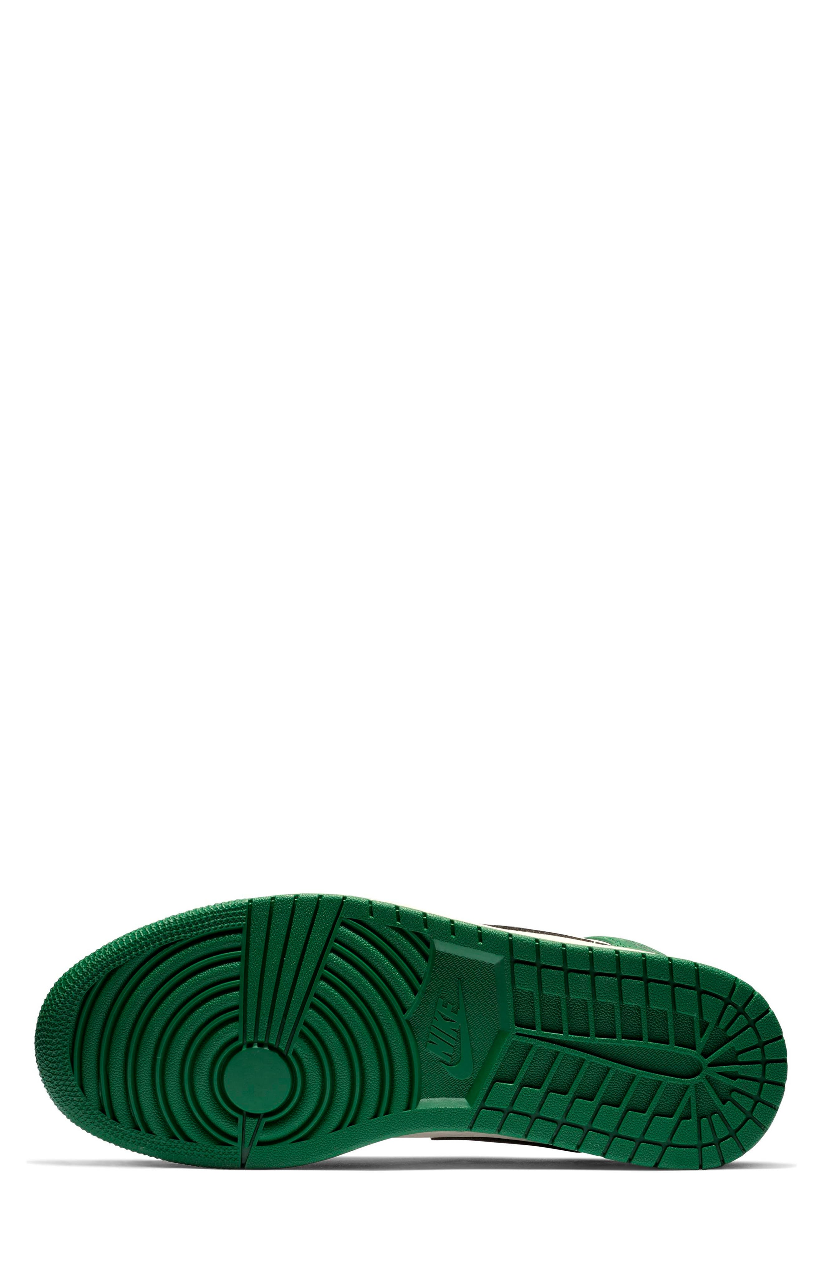 NIKE, Air Jordan 1 Mid Winterized Sneaker, Alternate thumbnail 4, color, 301