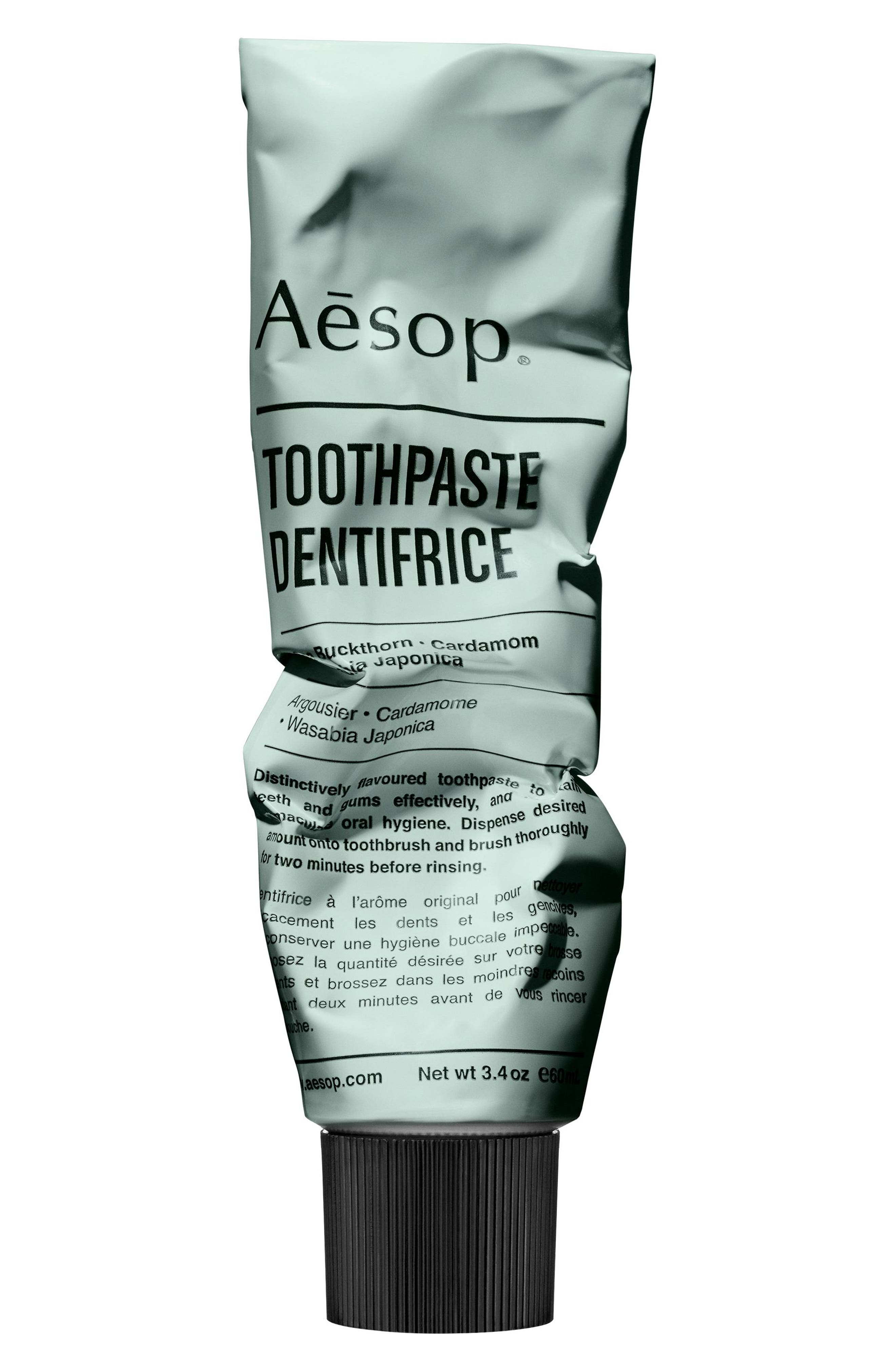 AESOP Toothpaste, Main, color, NO COLOR
