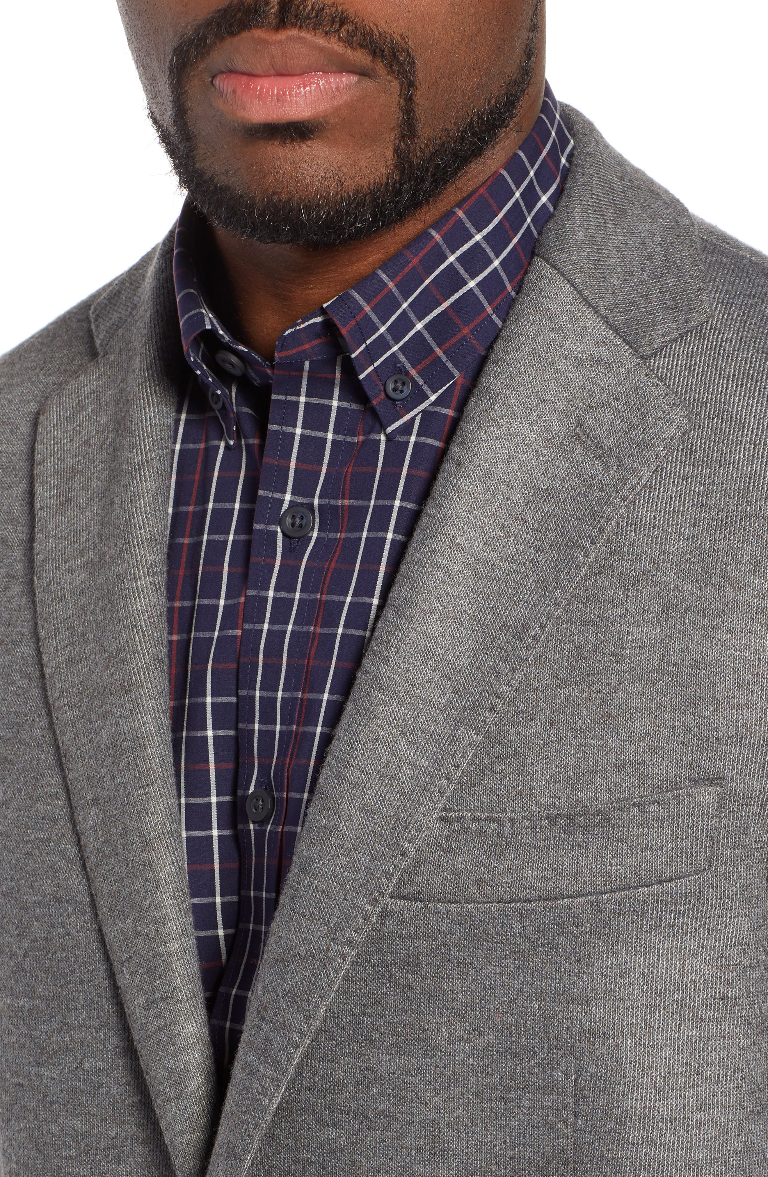RODD & GUNN, Brooklynn Sport Coat, Alternate thumbnail 4, color, ASH