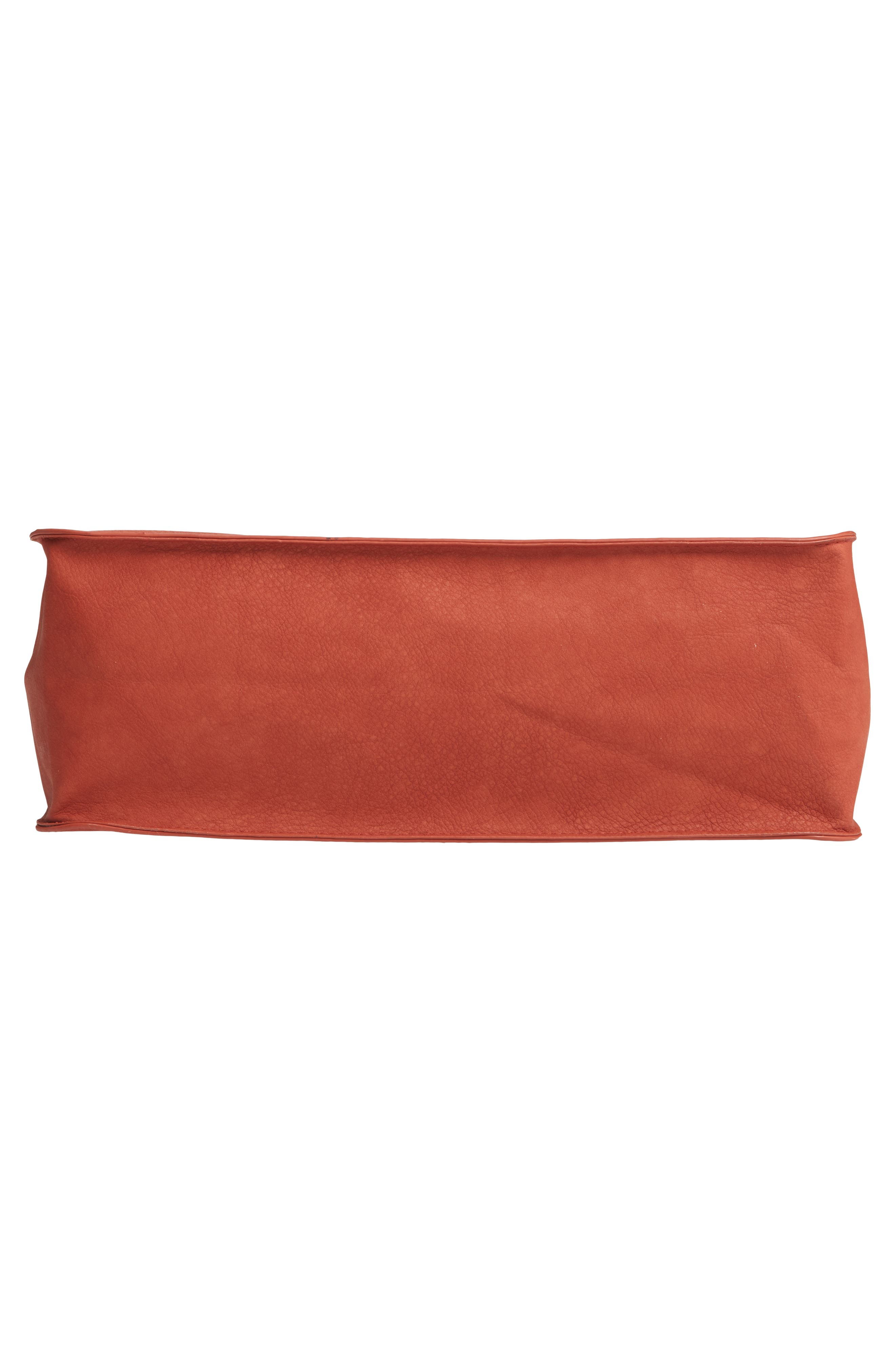 T-SHIRT & JEANS, Faux Leather Top Handle Tote Bag, Alternate thumbnail 7, color, 805