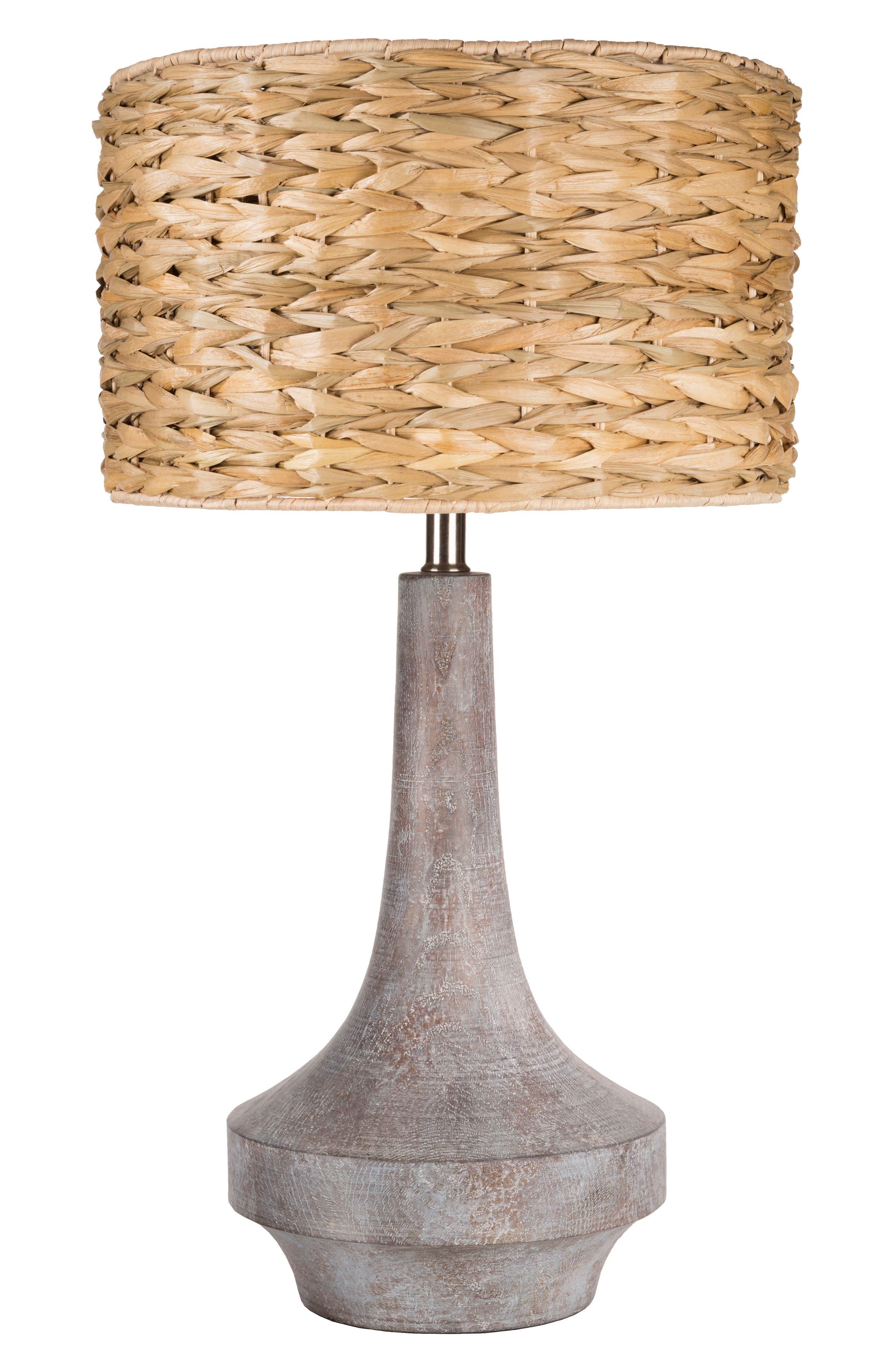 SURYA HOME Carson Table Lamp, Main, color, CAMEL