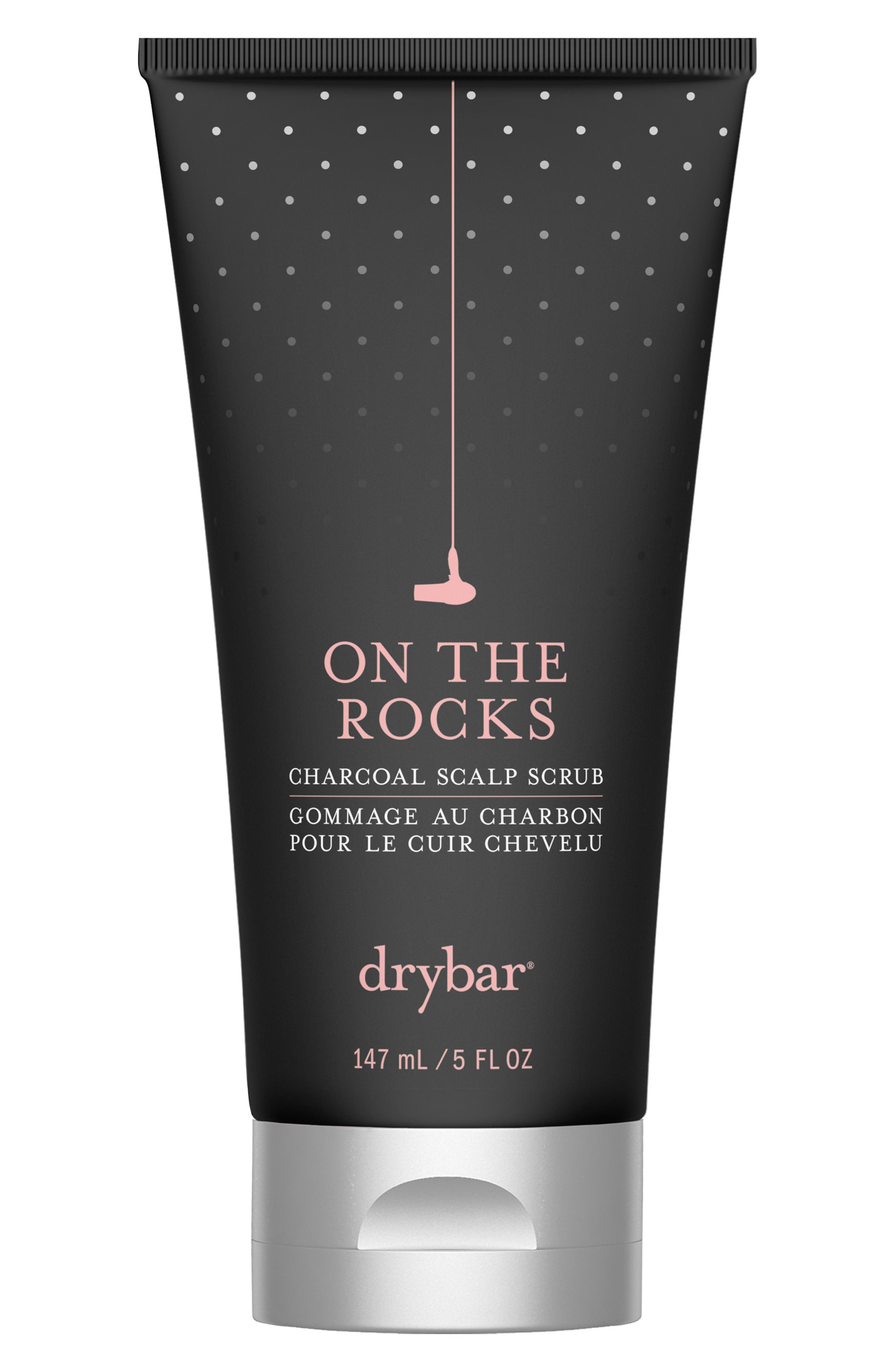 DRYBAR, On the Rocks Charcoal Scalp Scrub, Main thumbnail 1, color, NO COLOR