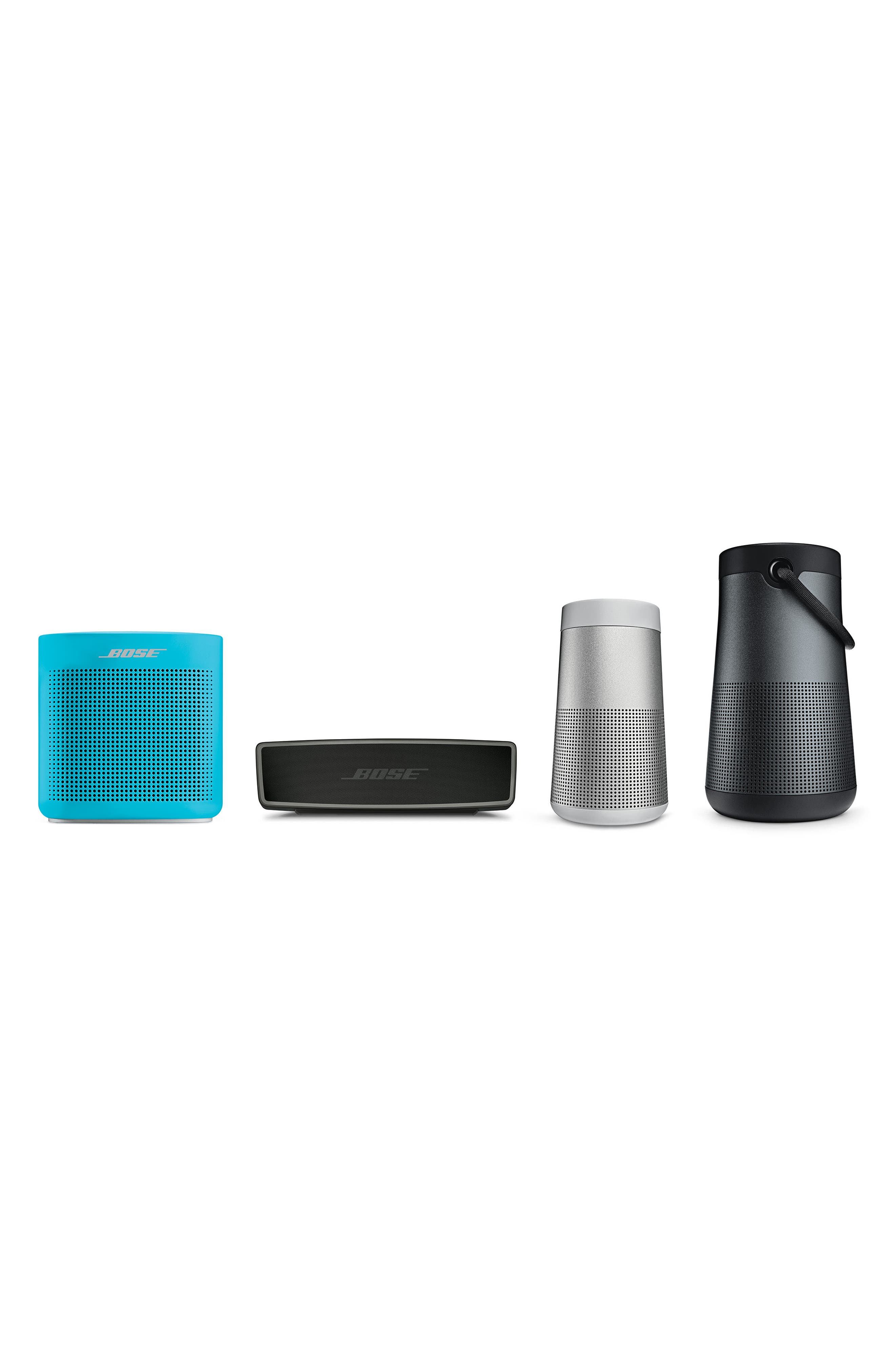 BOSE<SUP>®</SUP>, SoundLink<sup>®</sup> Revolve+ Bluetooth<sup>®</sup> Speaker, Alternate thumbnail 4, color, BLACK