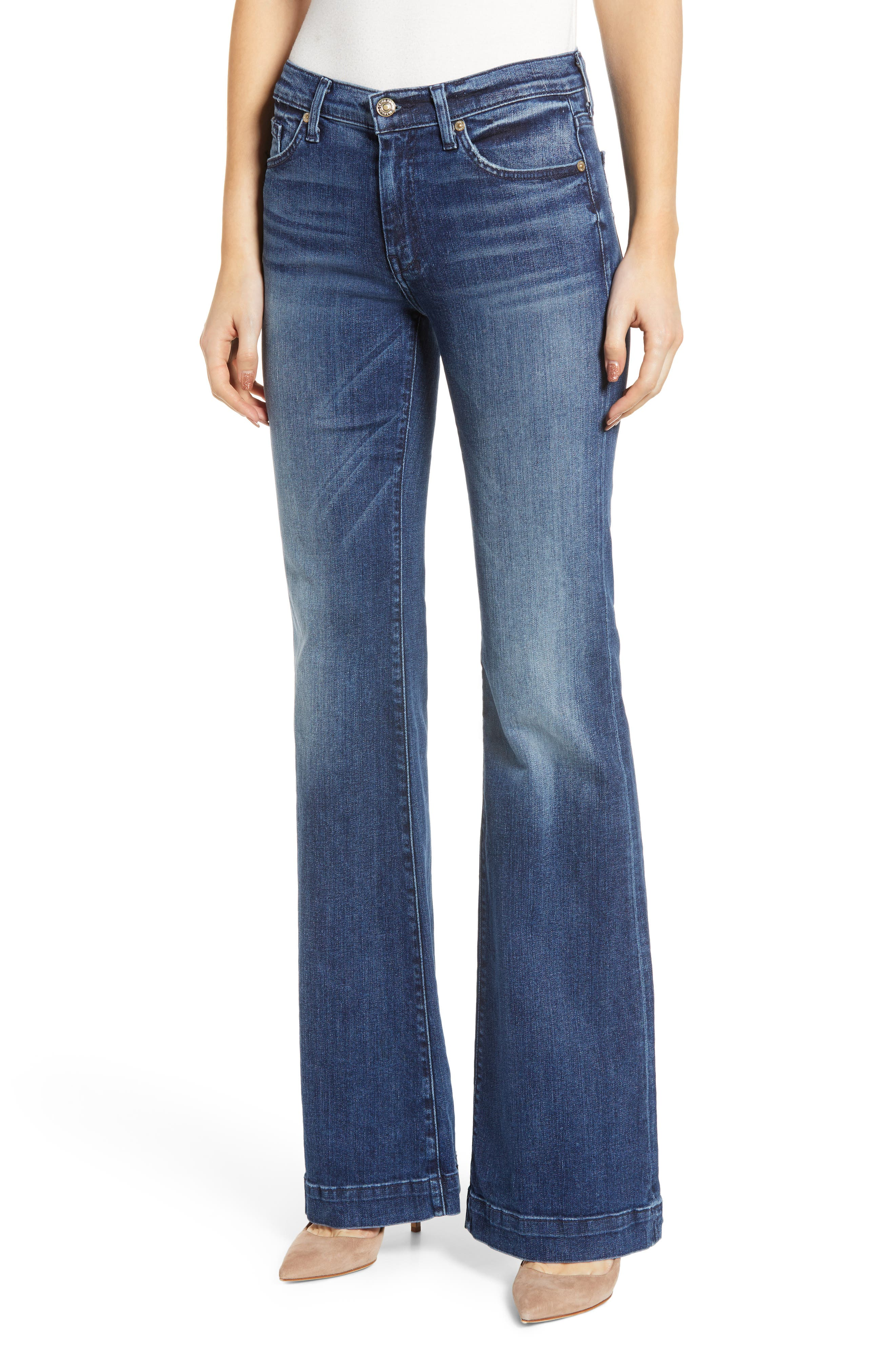 7 FOR ALL MANKIND<SUP>®</SUP>, b(air) Dojo Trouser Jeans, Alternate thumbnail 2, color, 472
