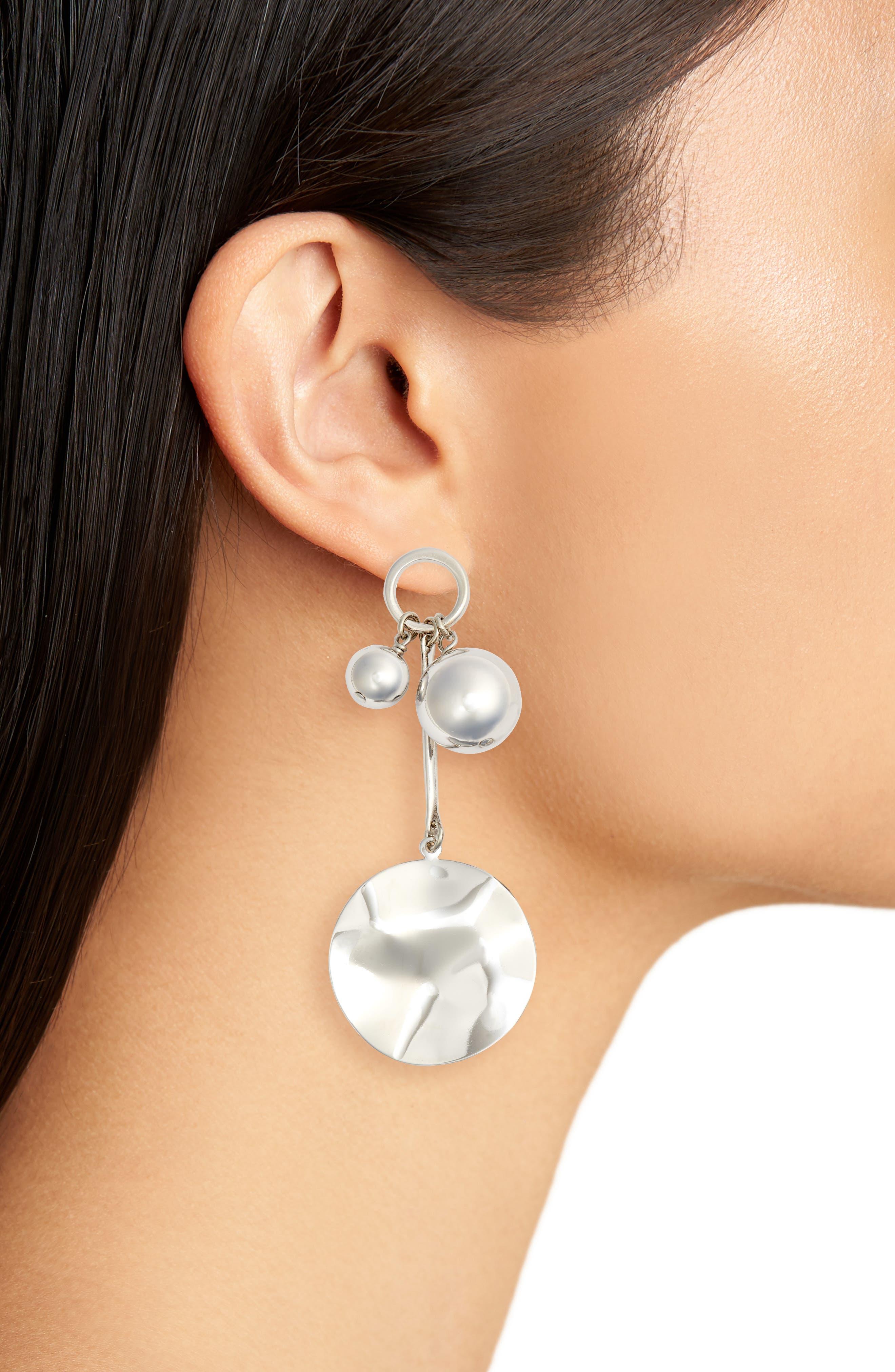 BIKO, Joyride Stud Earrings, Alternate thumbnail 2, color, 040