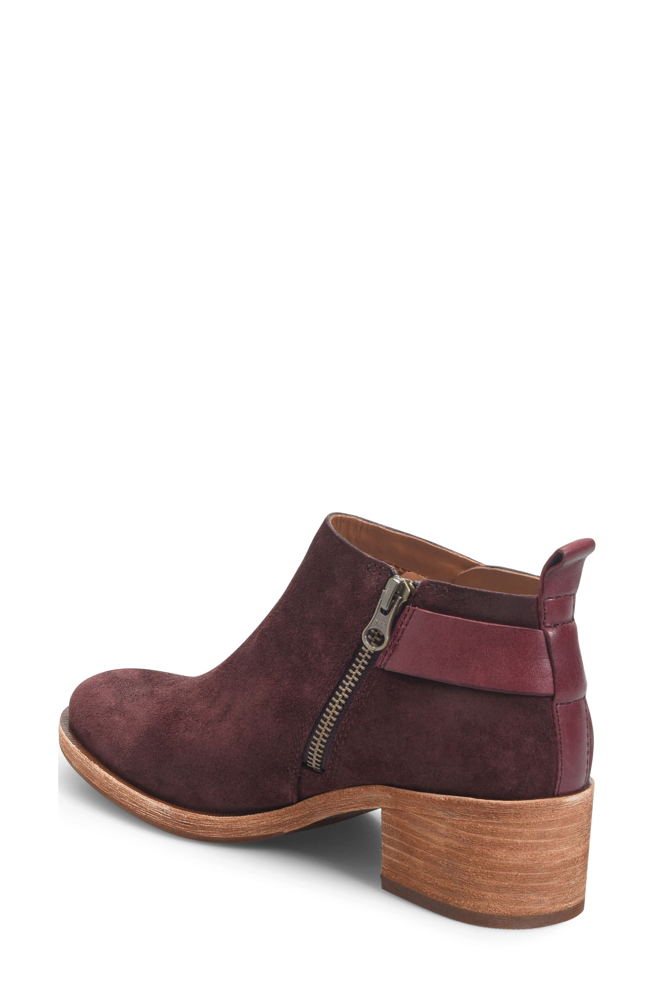 KORK-EASE<SUP>®</SUP>, Mesa Boot, Alternate thumbnail 2, color, BURGUNDY SUEDE