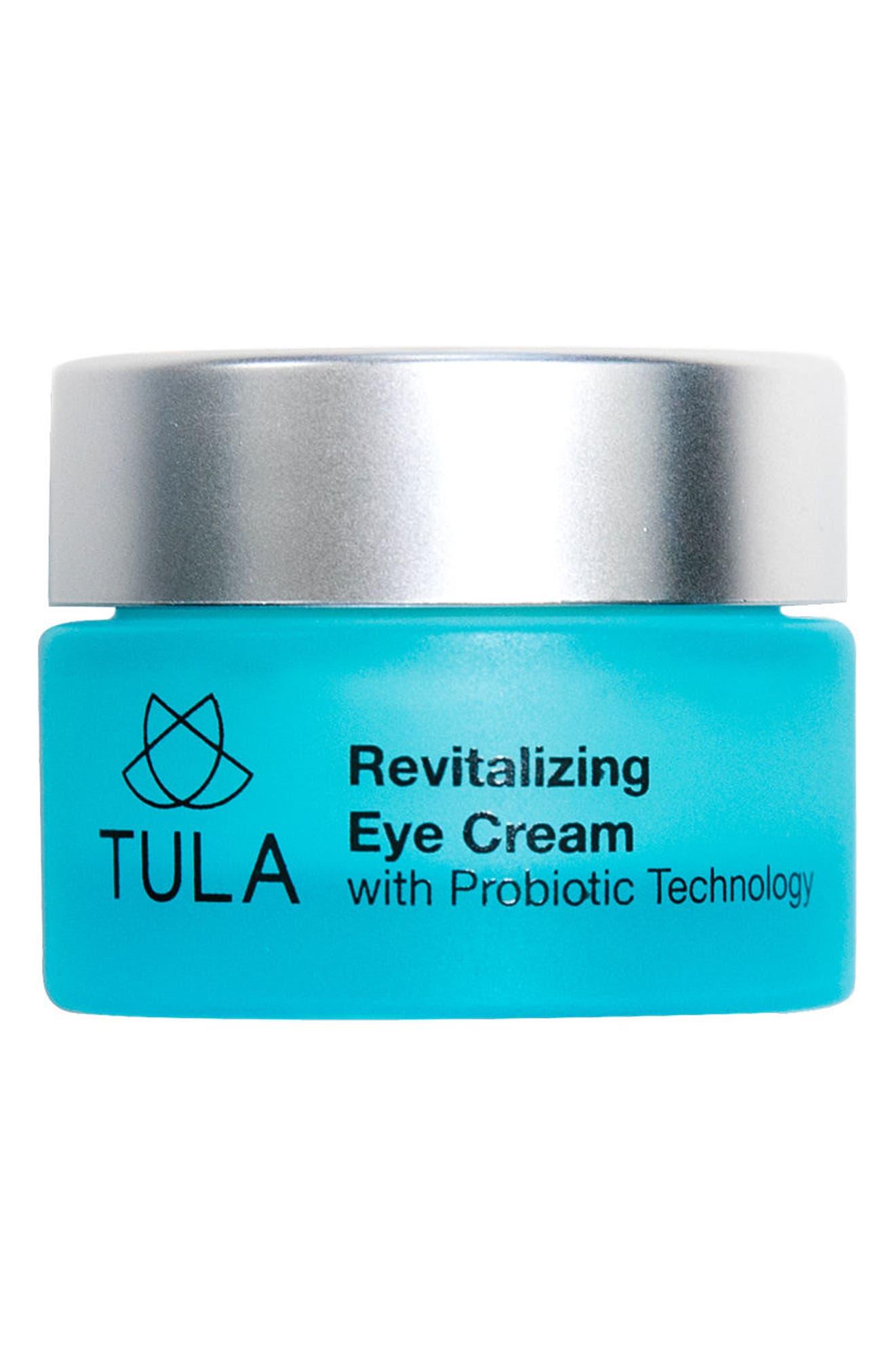 TULA PROBIOTIC SKINCARE Revitalizing Eye Cream, Main, color, NO COLOR