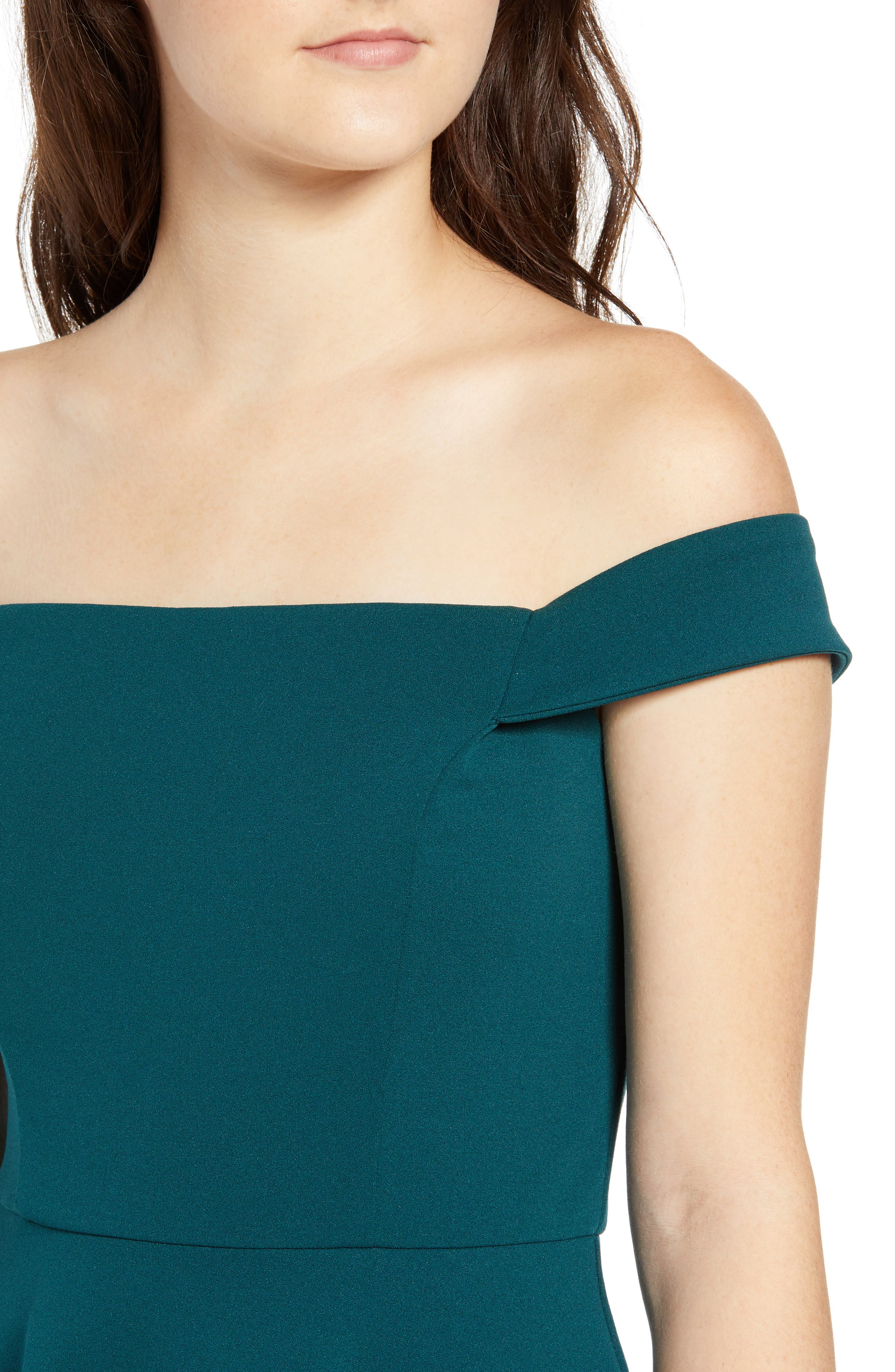 SPEECHLESS, Off the Shoulder Dress, Alternate thumbnail 5, color, 300