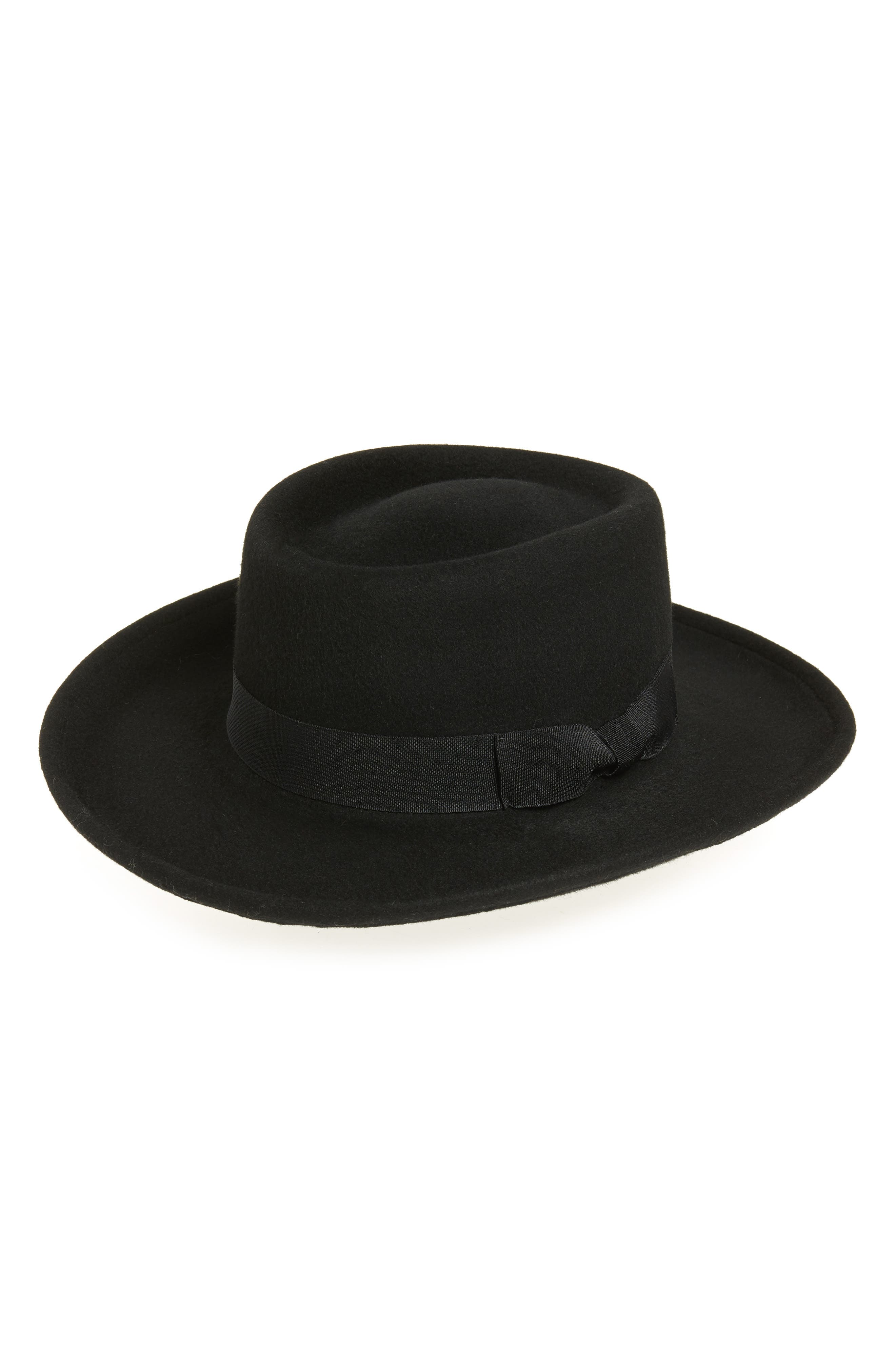 New Edwardian Style Men's Hats 1900-1920 Womens Eric Javits Planter Packable Wool Felt Hat - $215.00 AT vintagedancer.com