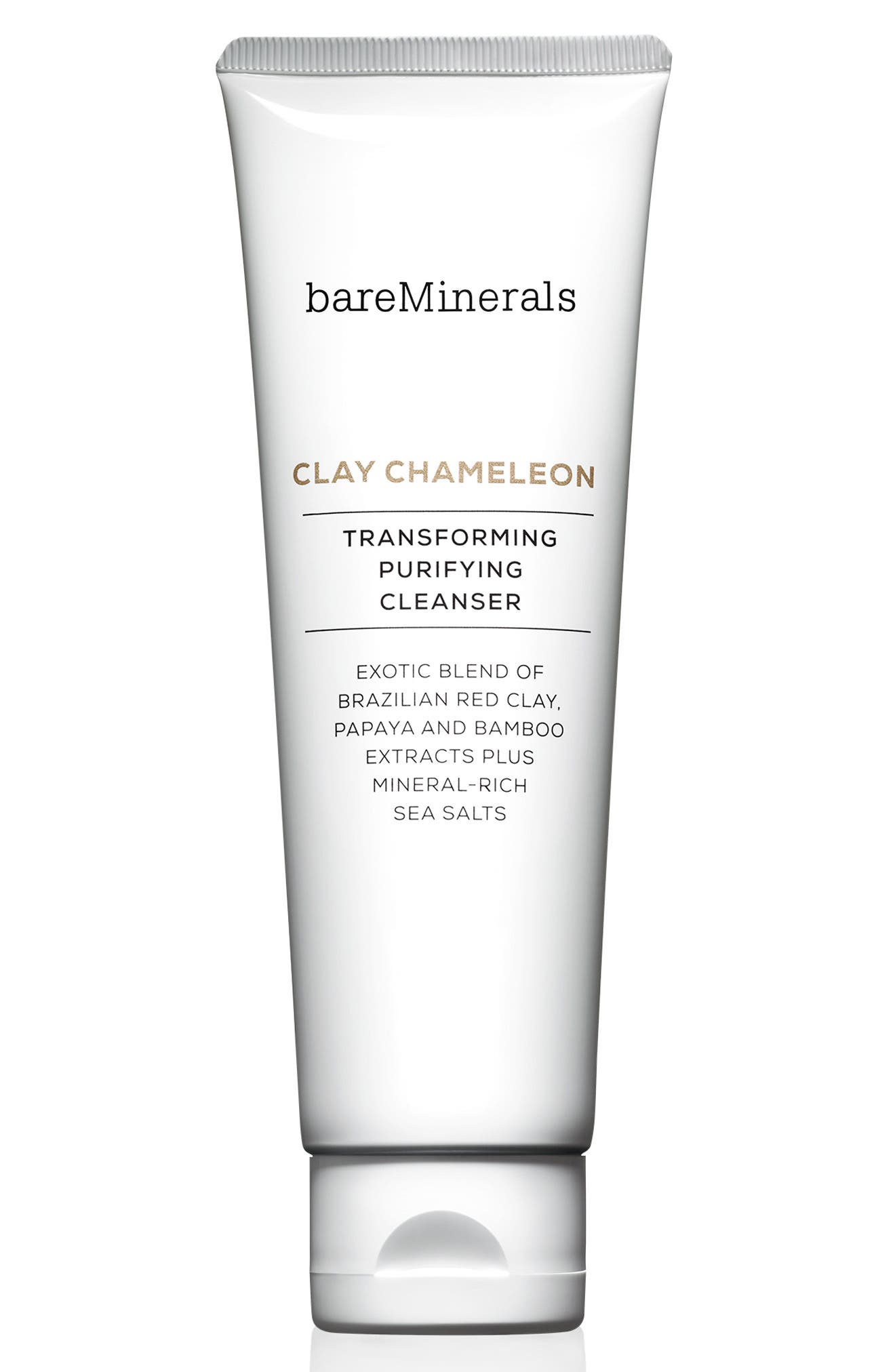 BAREMINERALS<SUP>®</SUP>, Clay Chameleon Transforming Purifying Cleanser, Main thumbnail 1, color, NO COLOR