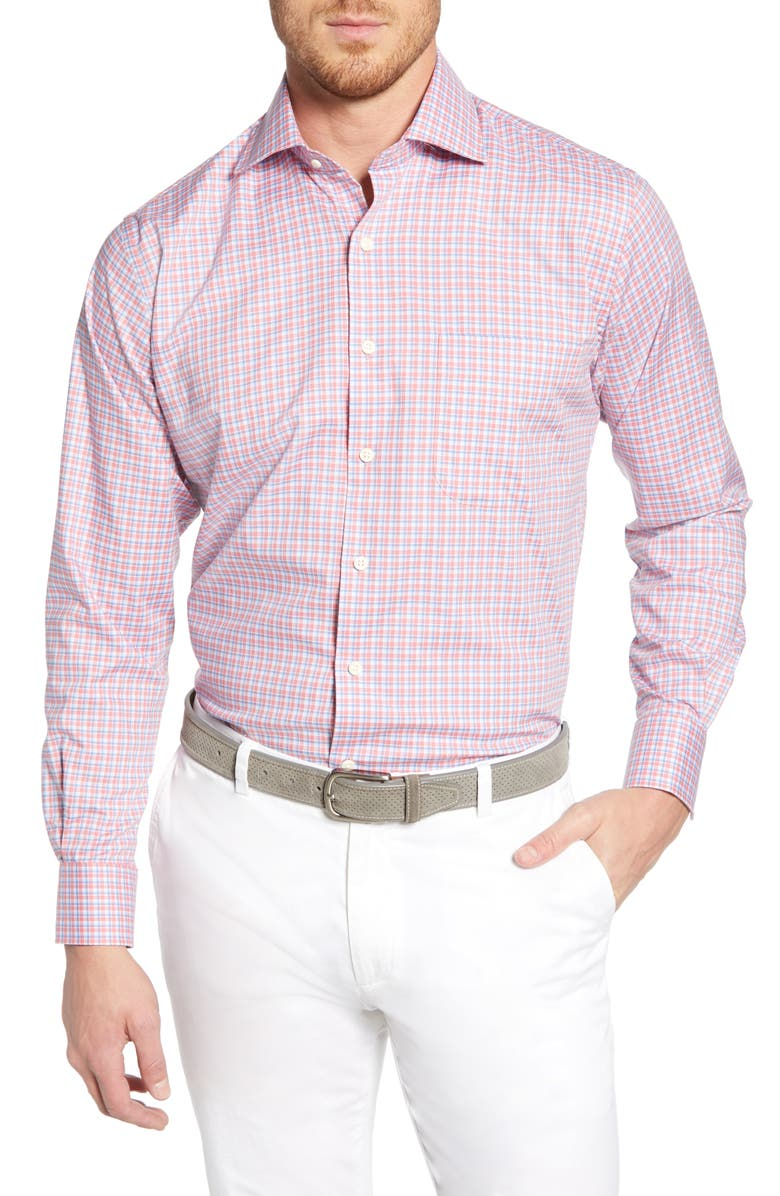 Peter Millar T-shirts POINT DANGER CHECK SPORT SHIRT