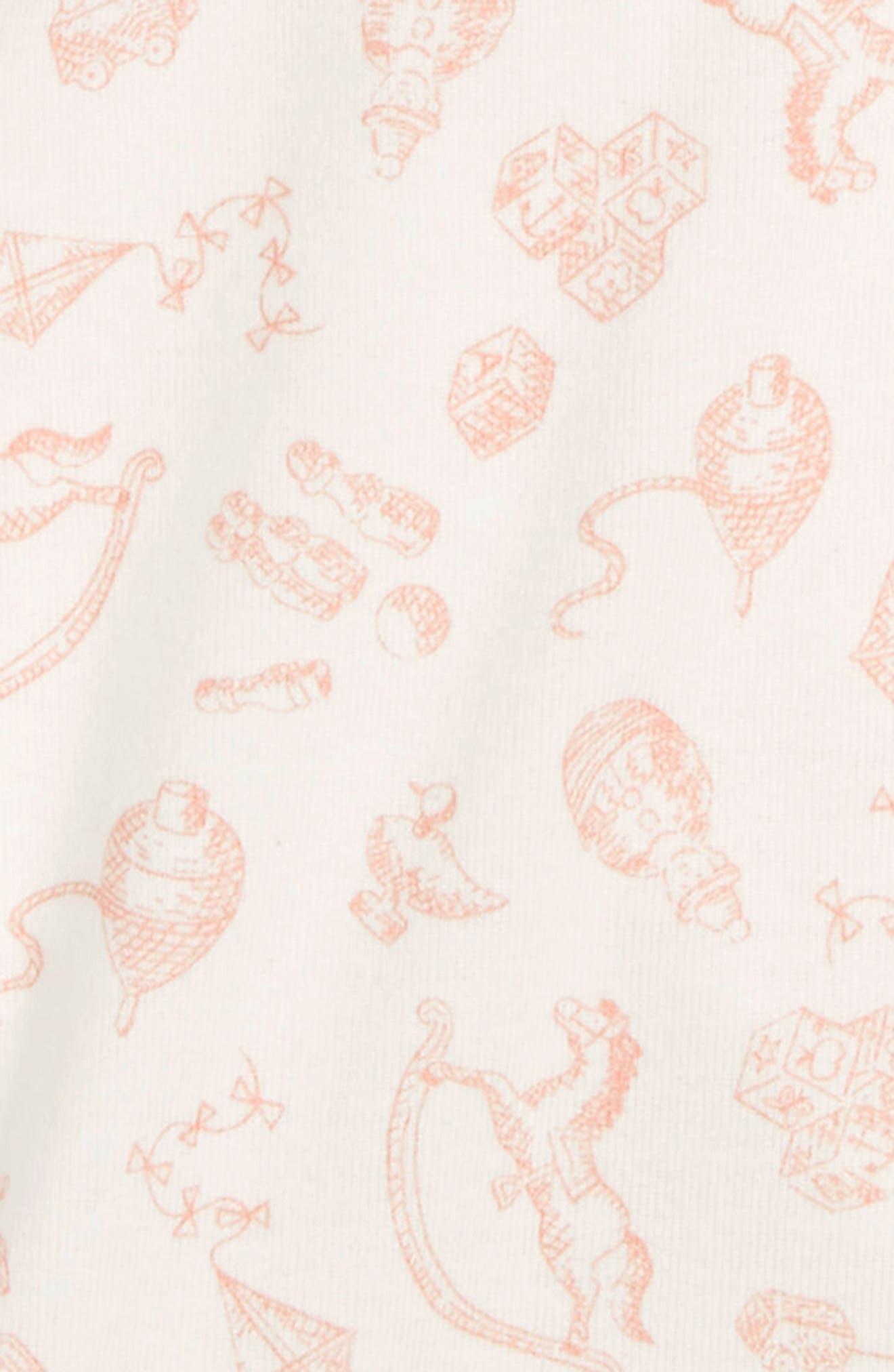 MINI BODEN, Print Wrap Bodysuit, Alternate thumbnail 2, color, VINTAGE SPRING