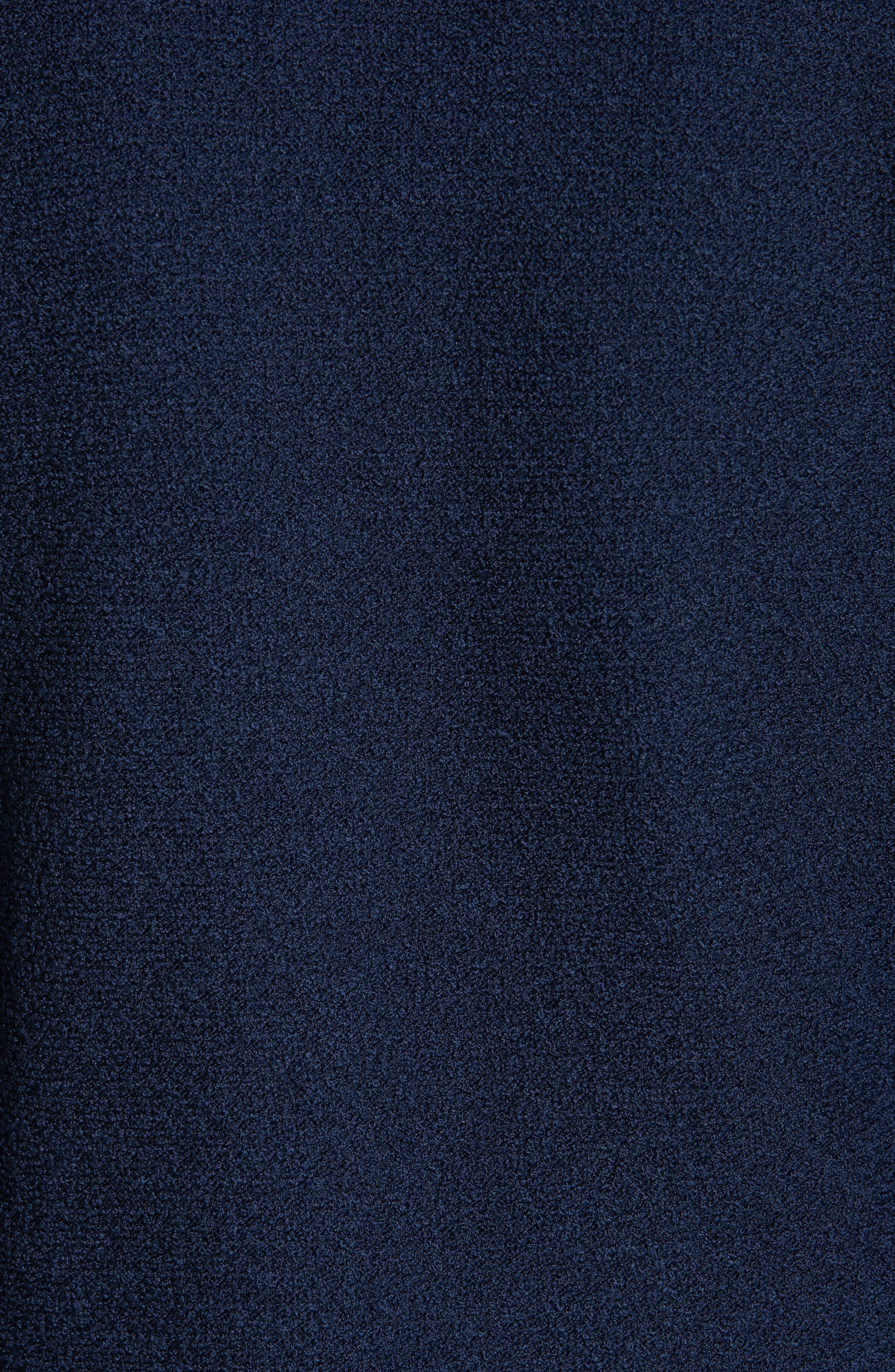 ST. JOHN COLLECTION, Ana Bouclé Knit Blazer, Alternate thumbnail 7, color, DEEP BLUE