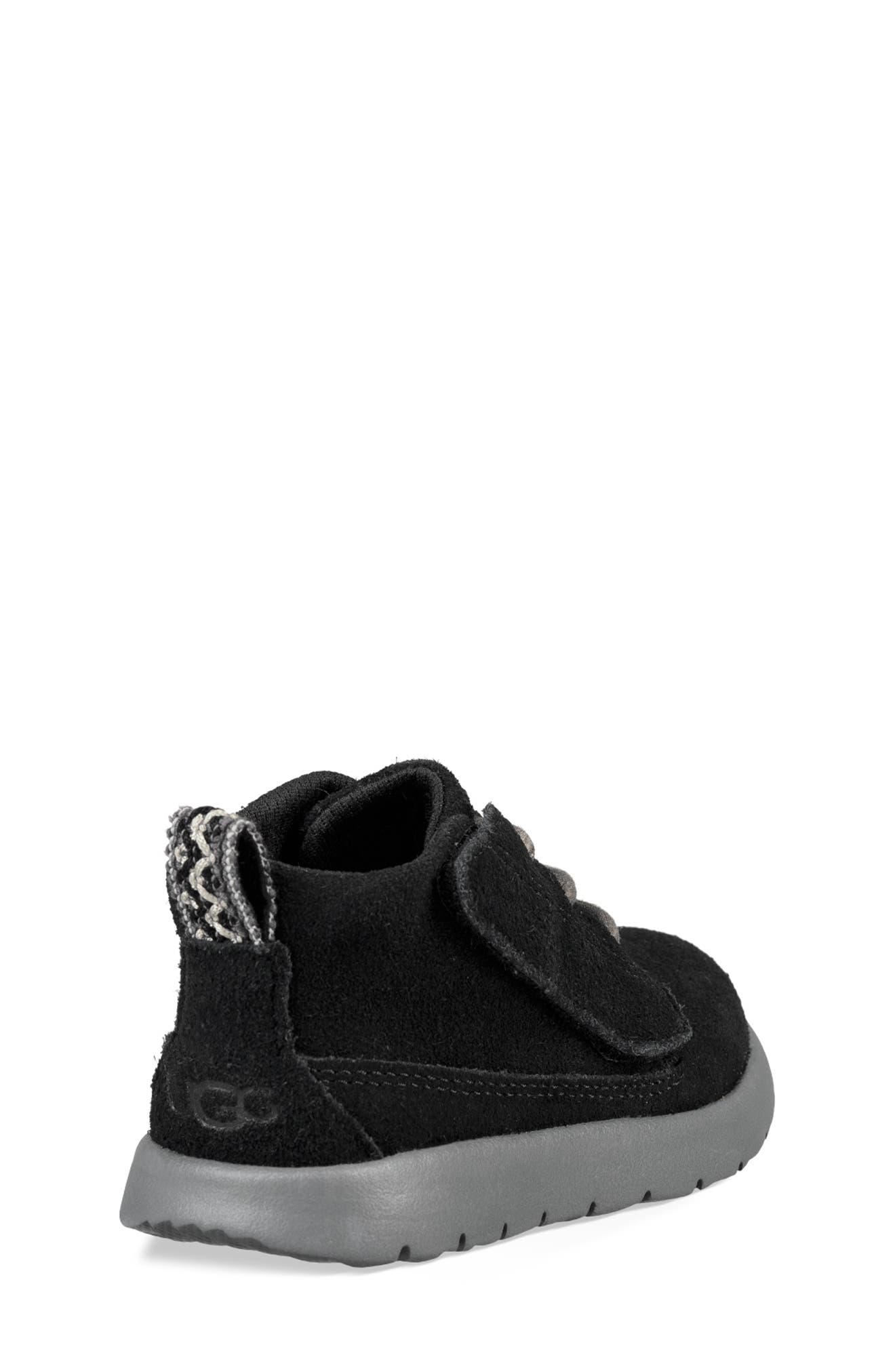 UGG<SUP>®</SUP>, Canoe Washable Chukka Sneaker, Alternate thumbnail 2, color, BLACK
