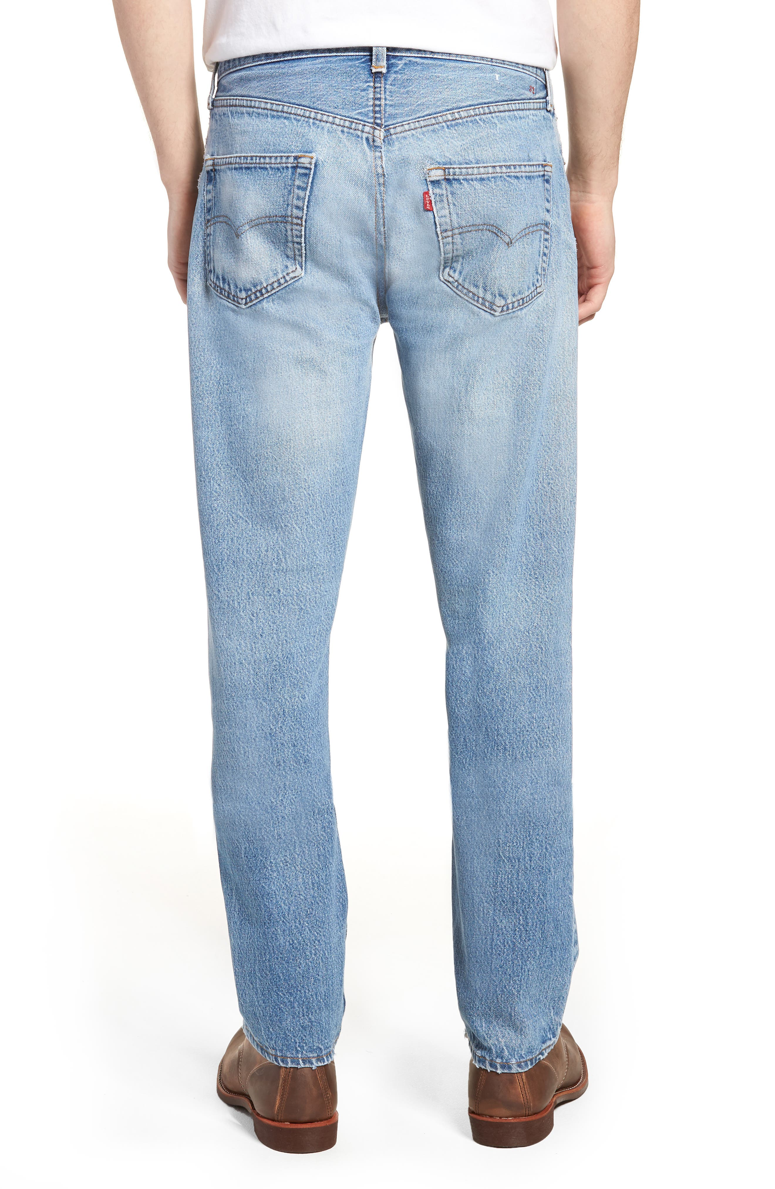 LEVI'S<SUP>®</SUP>, Authorized Vintage 501<sup>™</sup> Tapered Slim Fit Jeans, Alternate thumbnail 2, color, 400