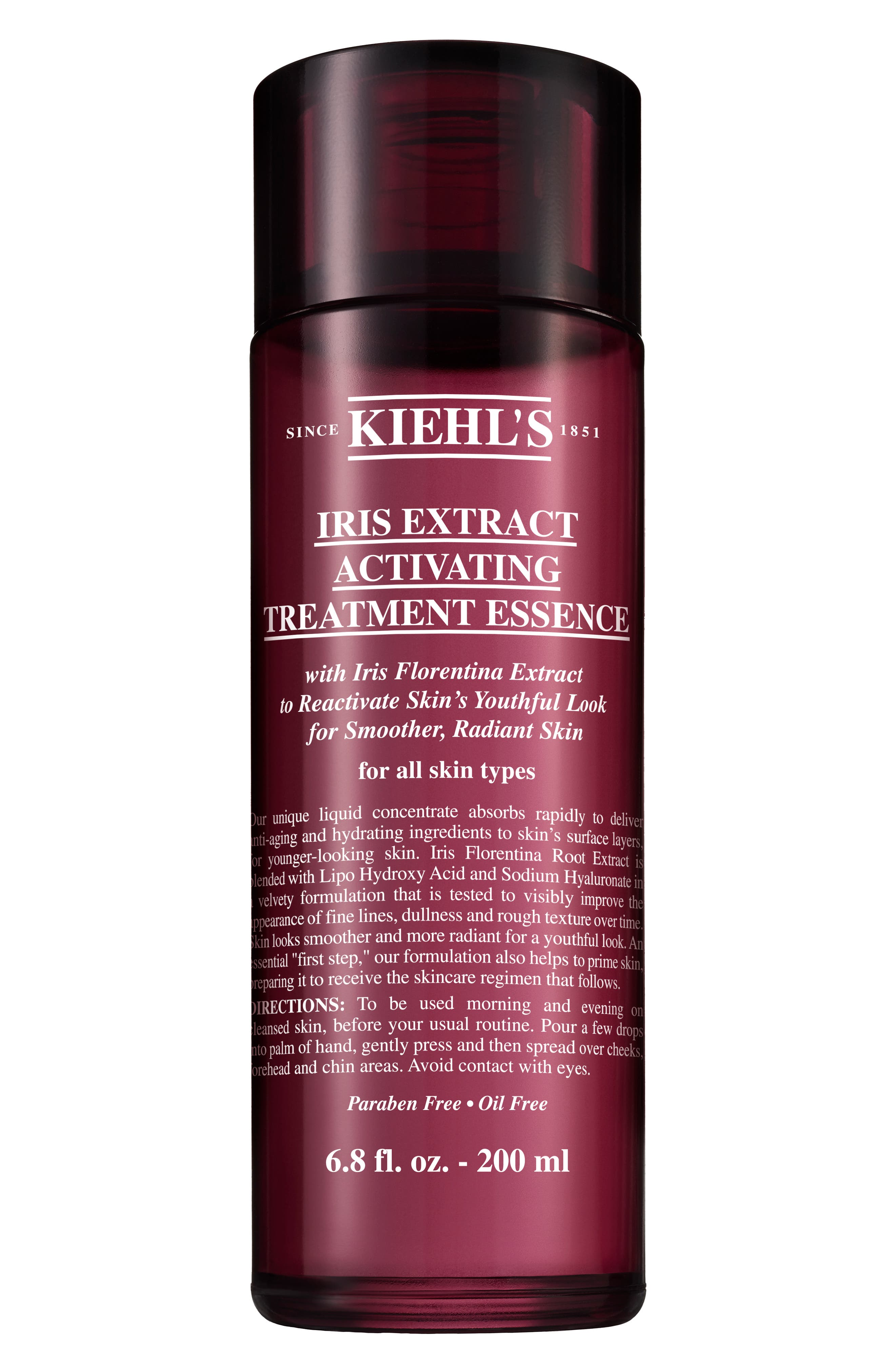 KIEHL'S SINCE 1851 Iris Extract Activating Essence Treatment, Main, color, NO COLOR